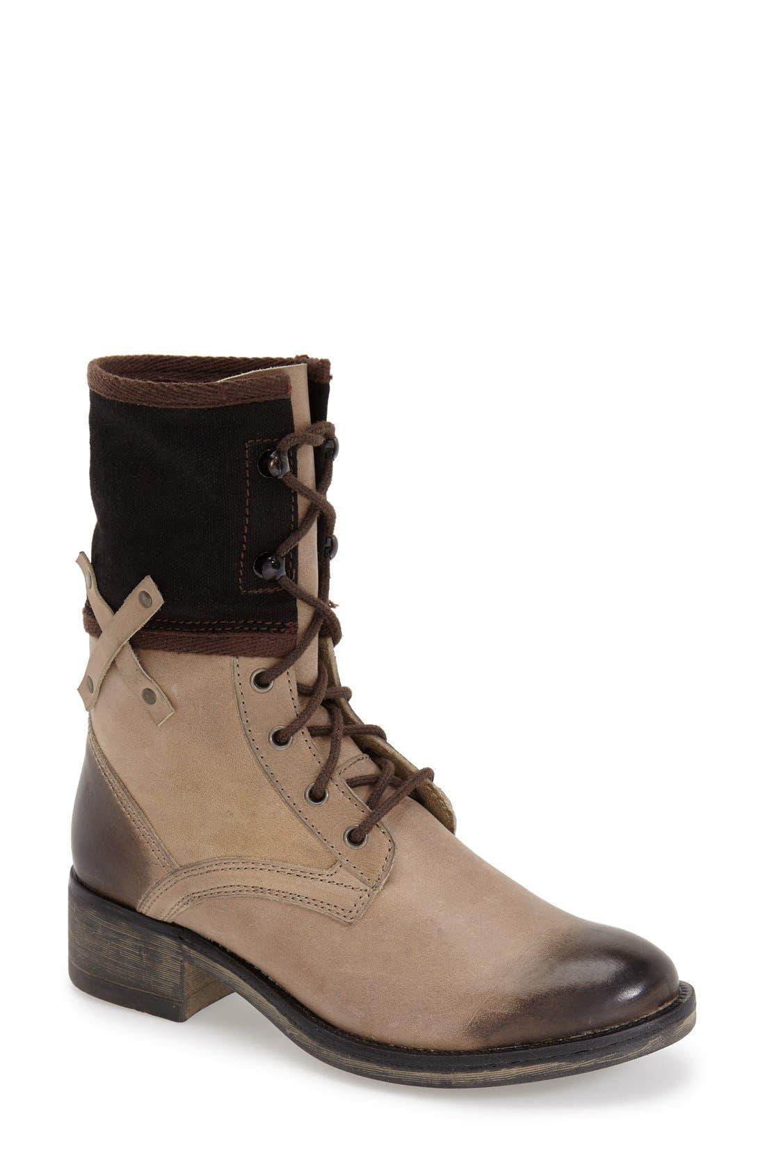 Alternate Image 1 Selected - Matisse 'Mechanic' Combat Boot (Women)