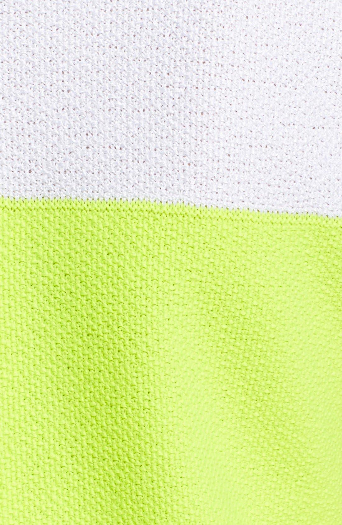 Alternate Image 3  - St. John Collection 'Nouveau' Colorblock Knit Shift Dress