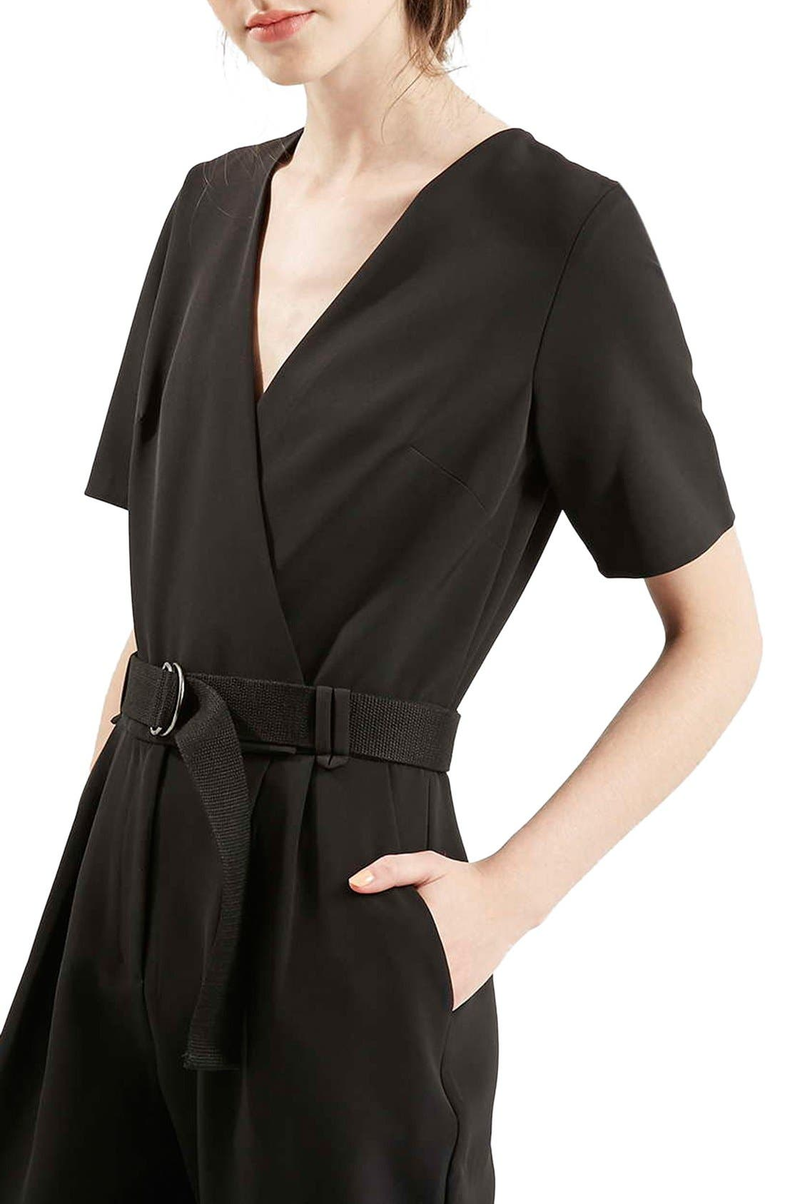 Alternate Image 5  - Topshop Belted Jumpsuit