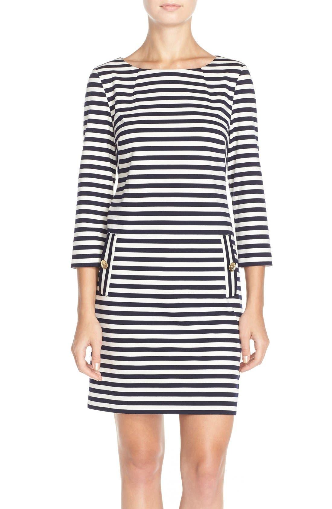 Main Image - Eliza J Stripe Shift Dress