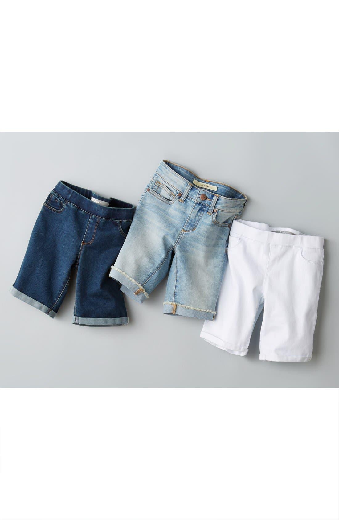 Alternate Image 2  - Tractr Bermuda Shorts (Big Girls)