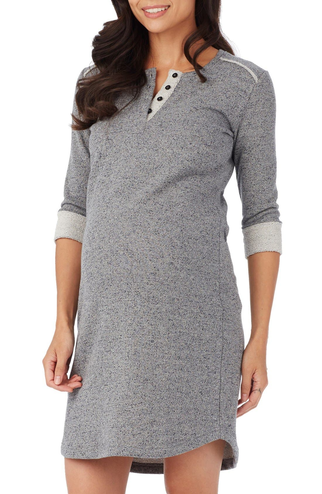 Rosie Pope 'Reese' Henley Maternity Dress