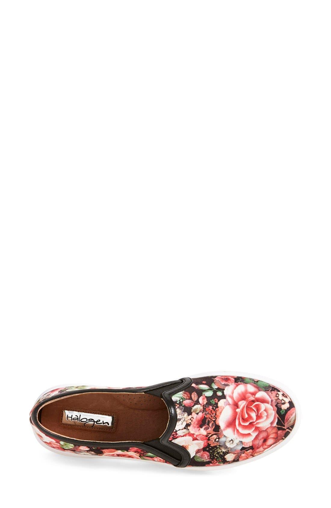 Alternate Image 3  - Halogen® 'Turner' Slip-On Sneaker (Women)