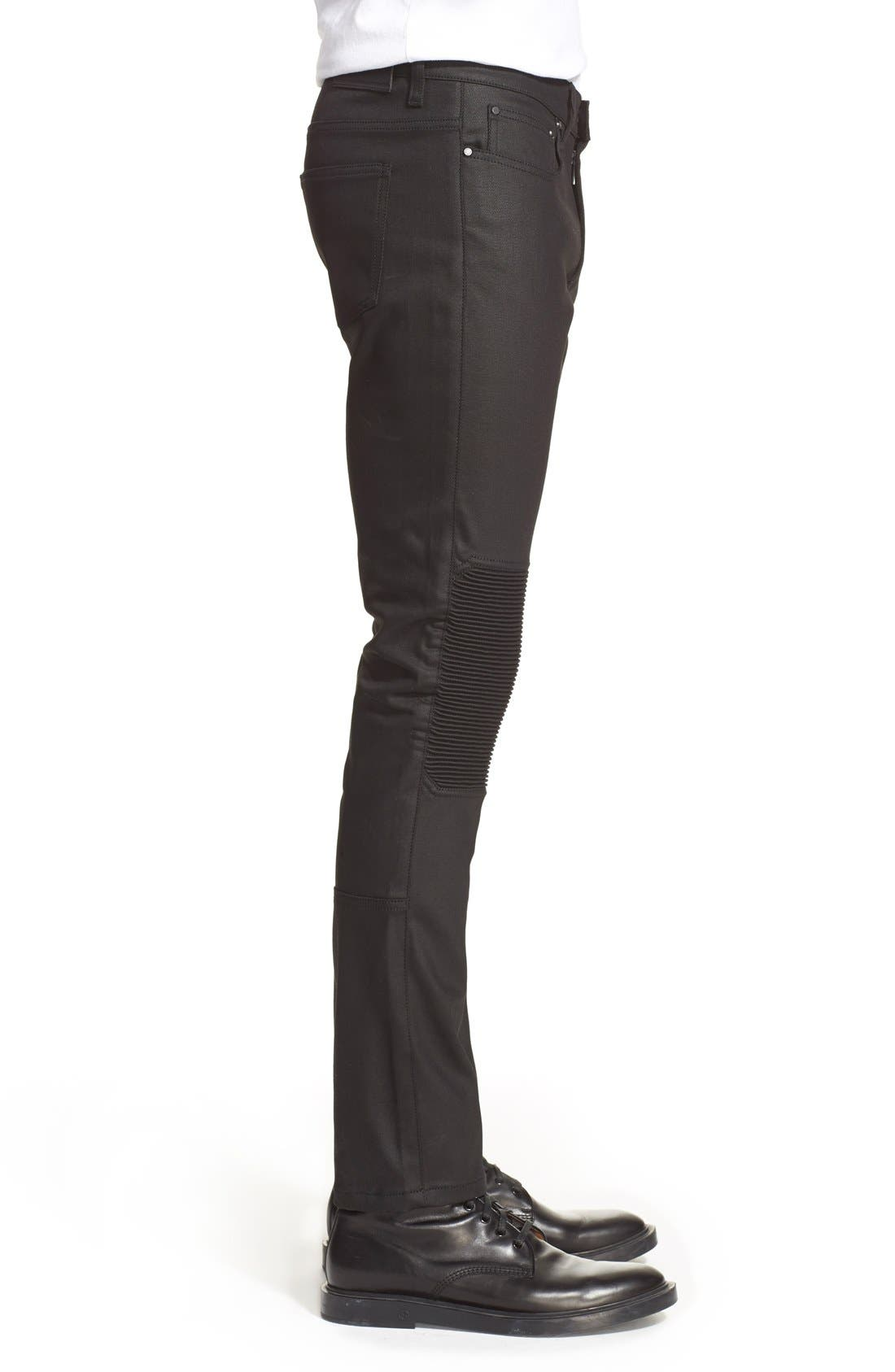 Alternate Image 3  - Belstaff 'Blackrod' Raw Stretch Denim Moto Jeans