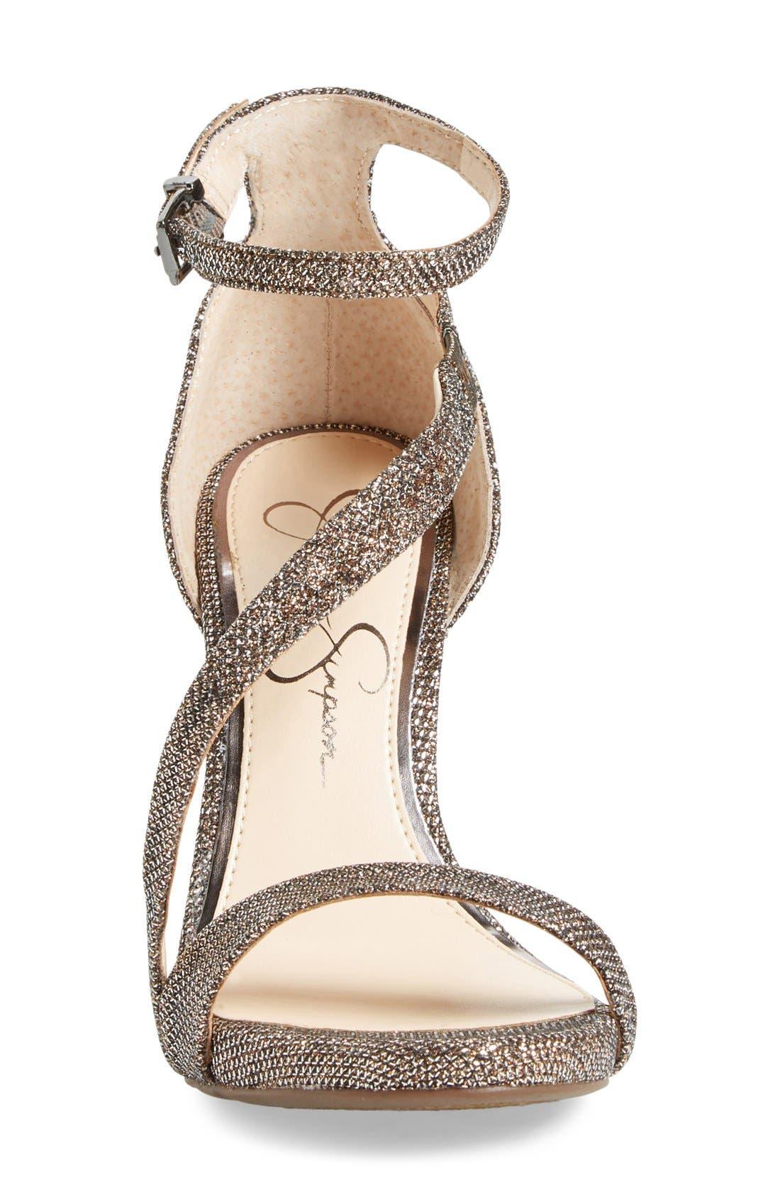 Alternate Image 3  - Jessica Simpson 'Rayli' Patent Ankle Strap Sandal (Women)