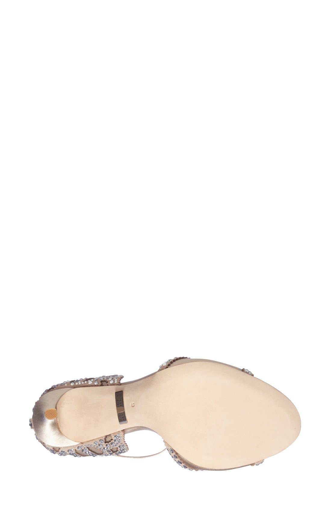 Alternate Image 4  - Badgley Mischka 'Roxy' Sandal (Women)