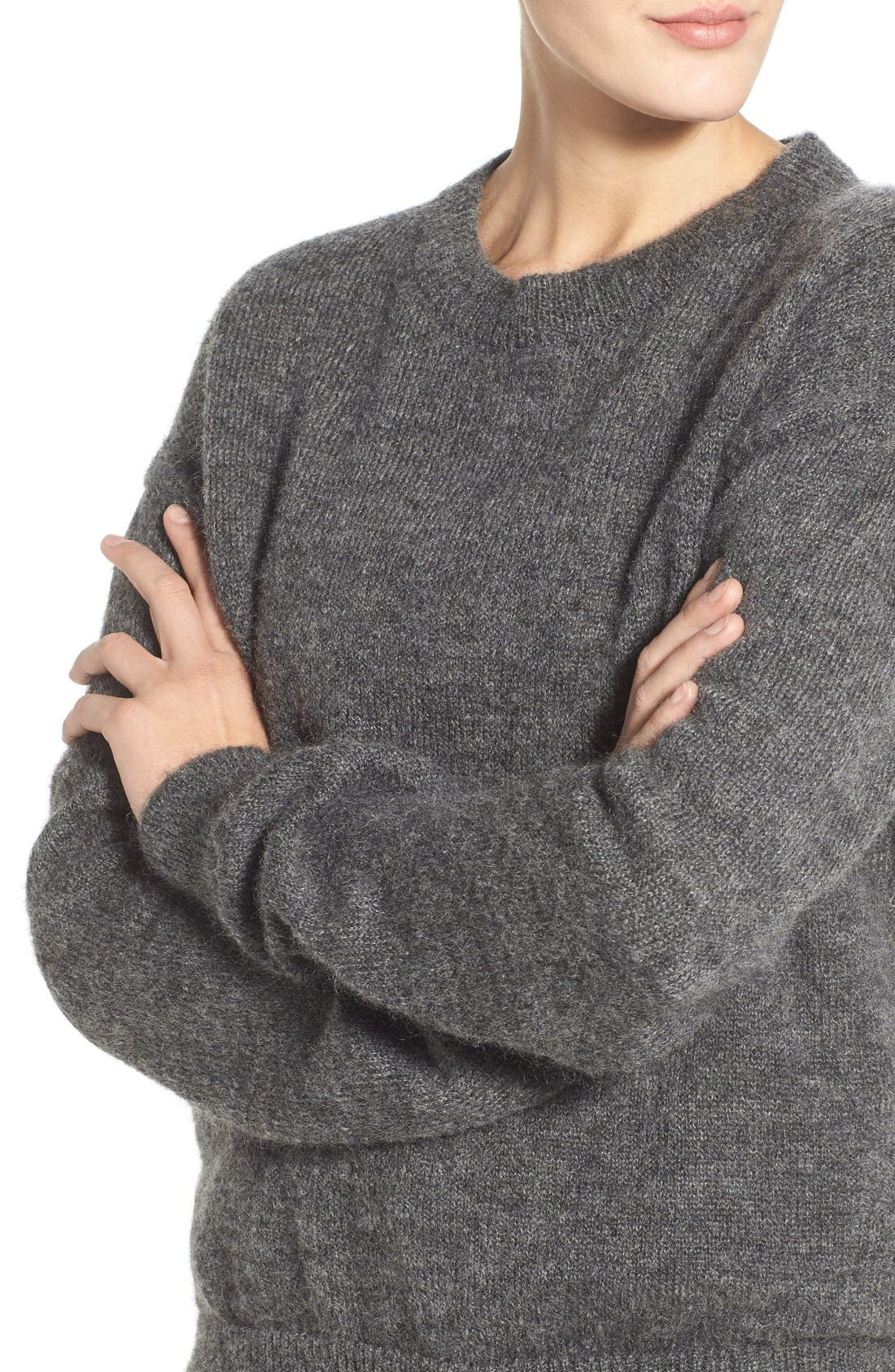 Alternate Image 4  - M.i.h. Jeans 'Delo' Mohair Blend Crewneck Sweater