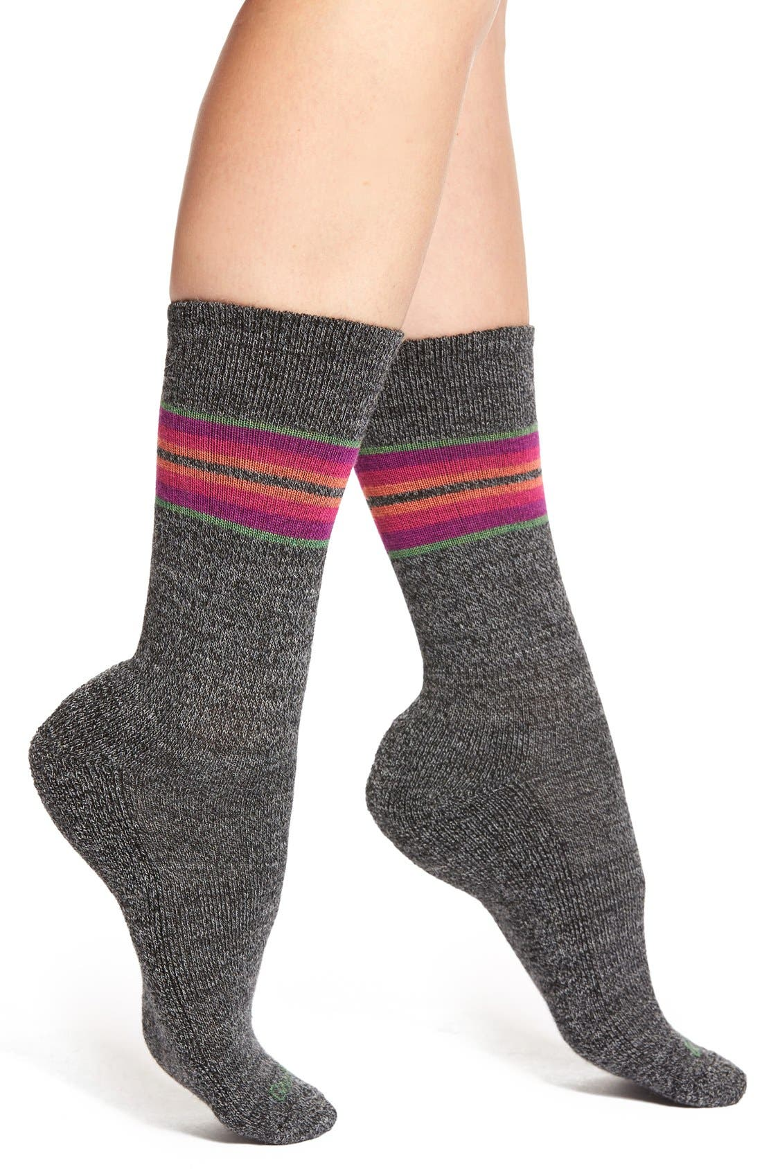Alternate Image 1 Selected - GoodHew 'Hot Springs' Crew Socks