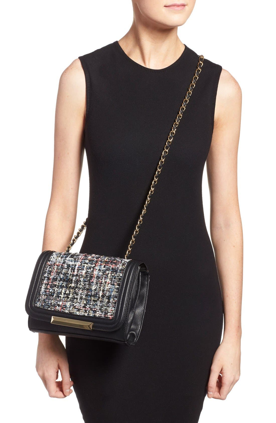 Alternate Image 2  - Sole Society 'Celeste' Quilted Sequin Crossbody Bag