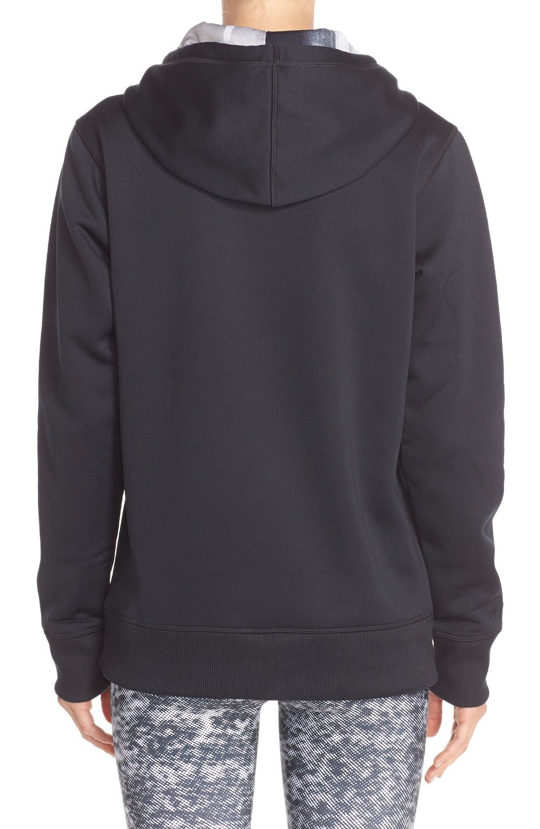 Alternate Image 2  - Under Armour Logo Hoodie