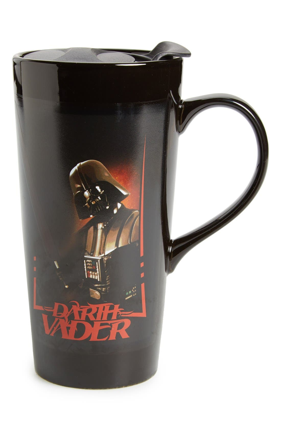 Main Image - Vandor 'Star Wars™ - Darth Vader' Heat Activated Ceramic Travel Mug