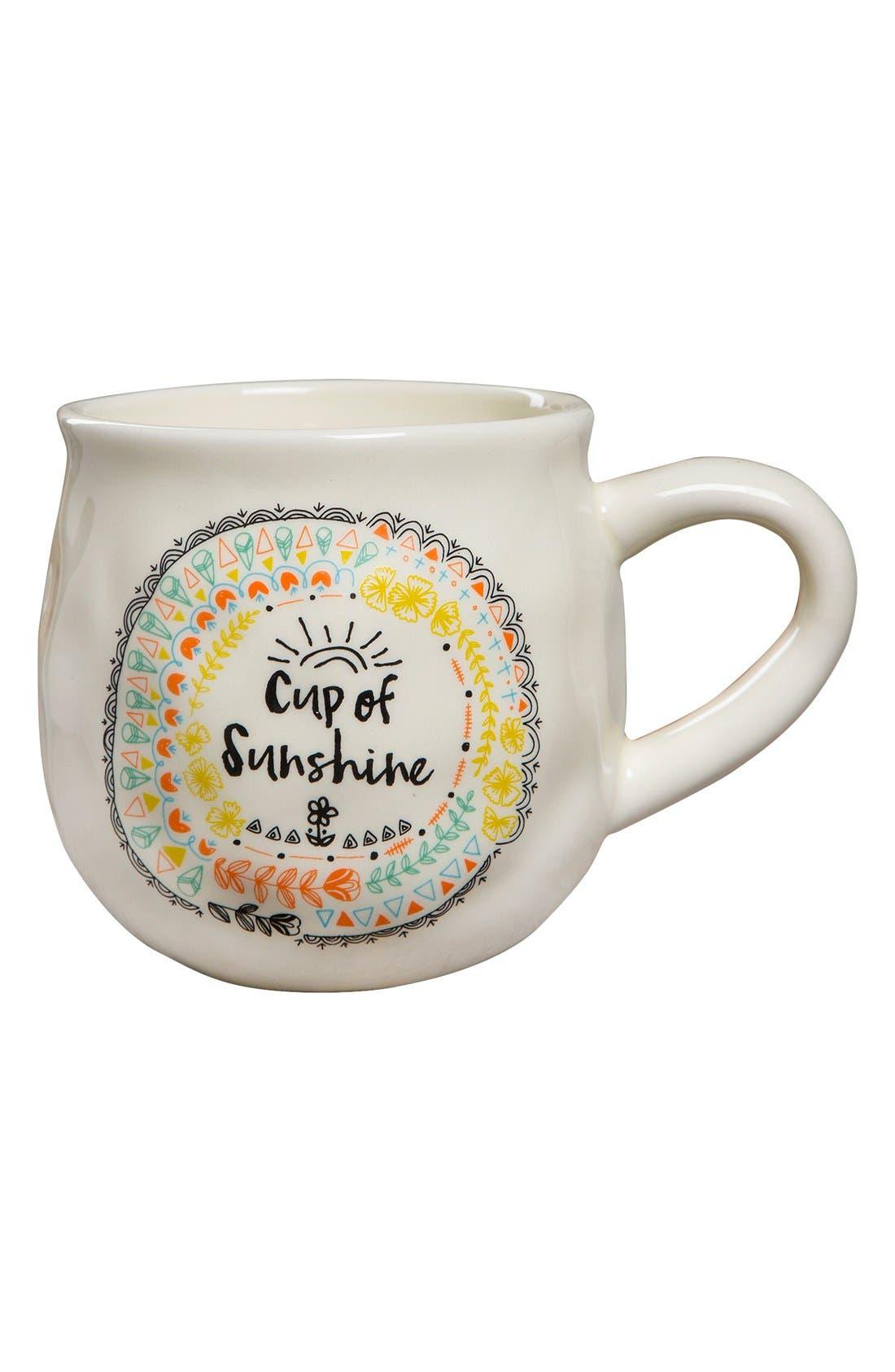 Alternate Image 1 Selected - Natural Life 'Cup of Sunshine' Ceramic Coffee Mug