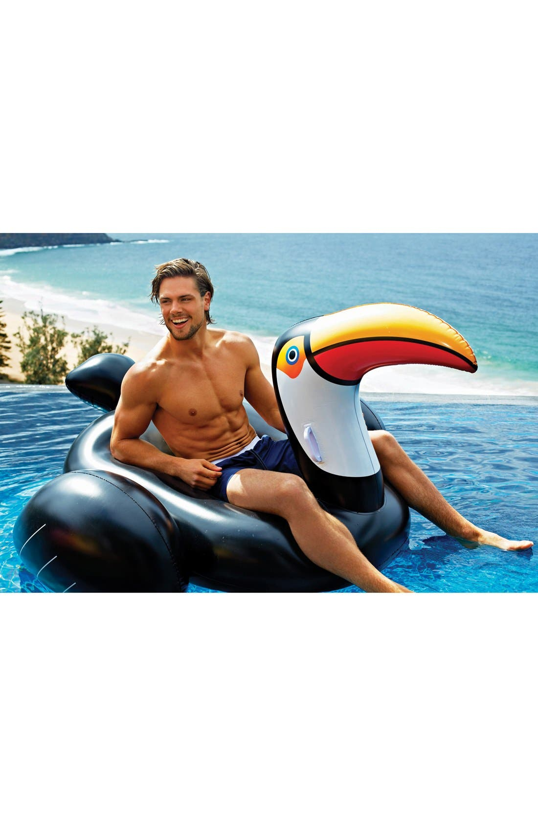 Alternate Image 2  - Sunnylife 'Really Big' Inflatable Toucan Pool Floatie