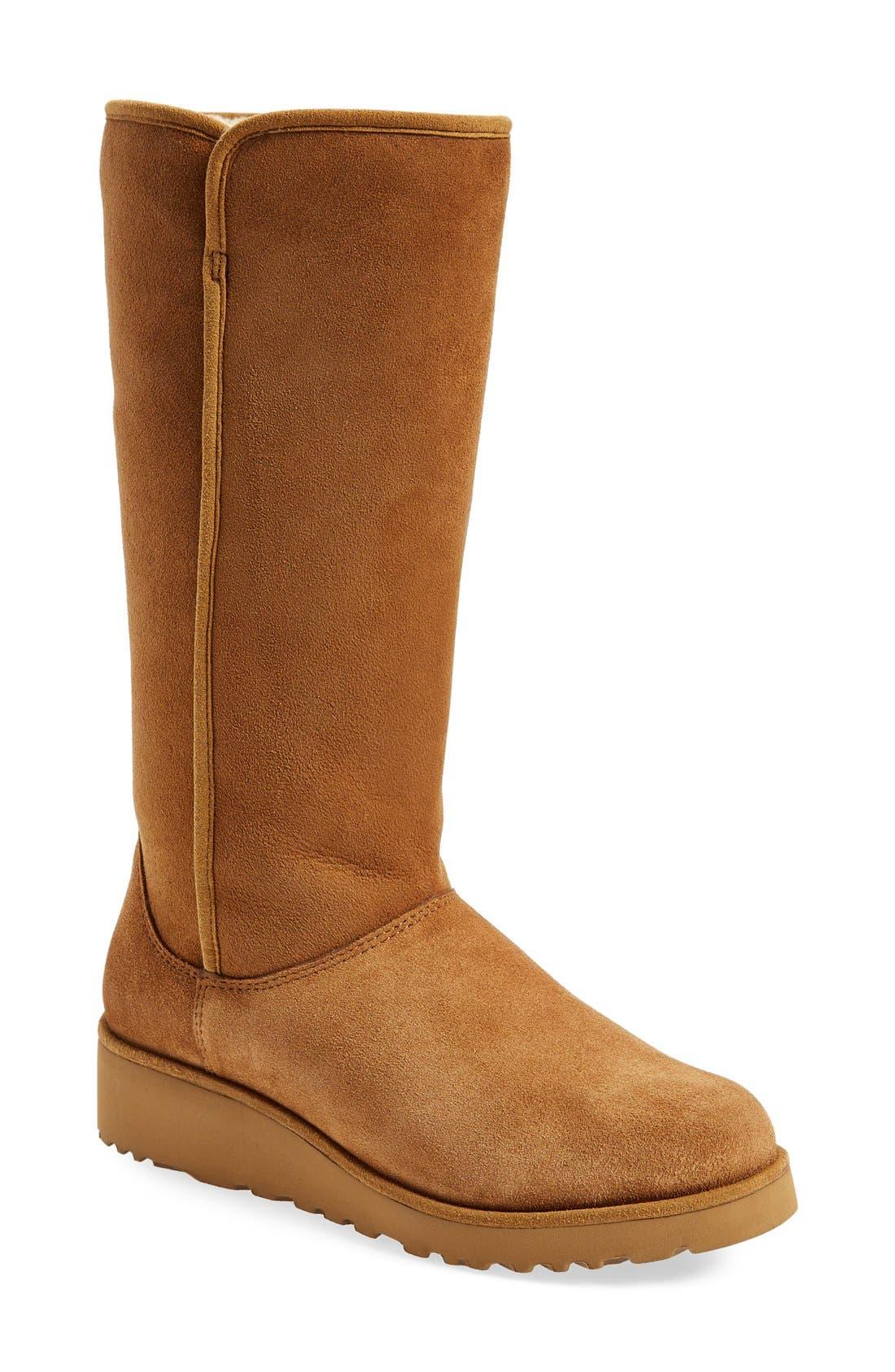 Alternate Image 1 Selected - UGG® Kara - Classic Slim™ Water Resistant Tall Boot (Women)