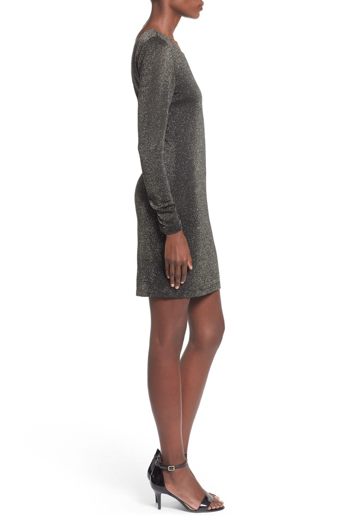 Alternate Image 3  - Speechless Metallic Long Sleeve Sweater Dress