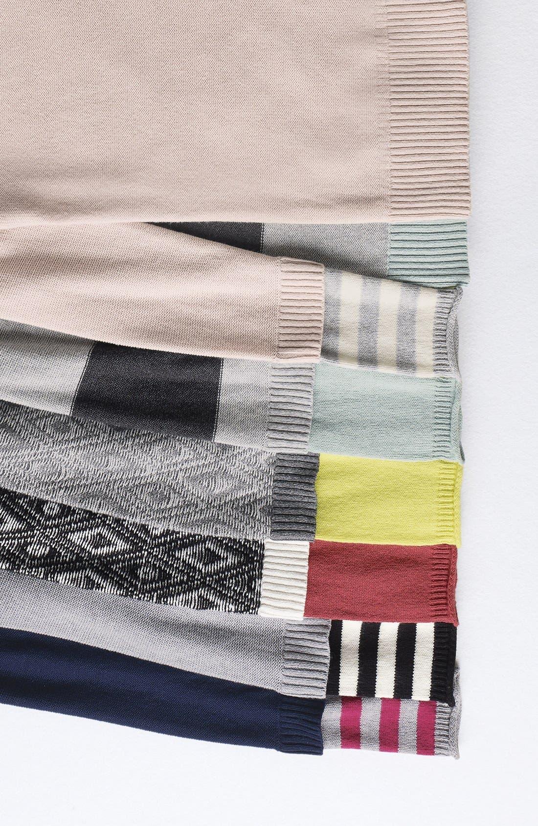 Alternate Image 7  - Caslon® Contrast Cuff Crewneck Sweater (Regular & Petite)