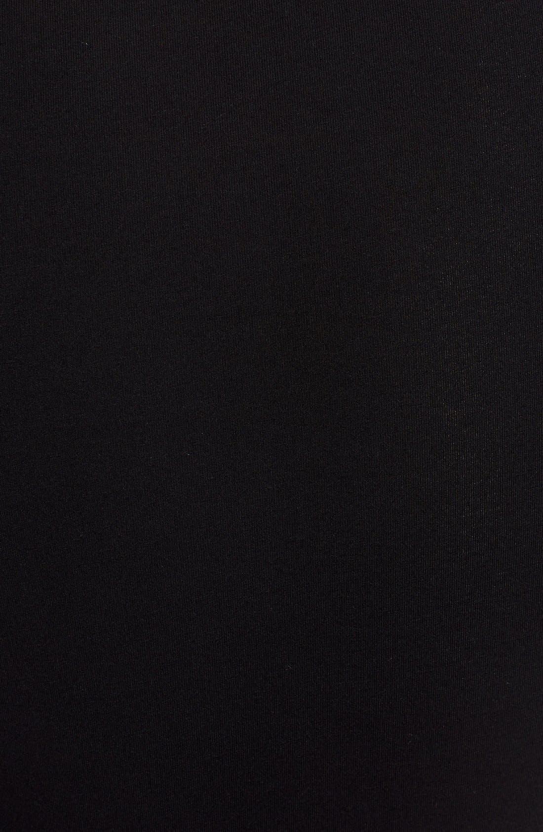 Alternate Image 6  - Glamorous Long Sleeve Lace-Up Bodysuit
