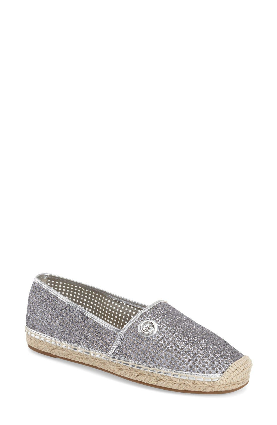 Alternate Image 1 Selected - MICHAEL Michael Kors 'Kendrick' Slip-On Espadrille Flat (Women)