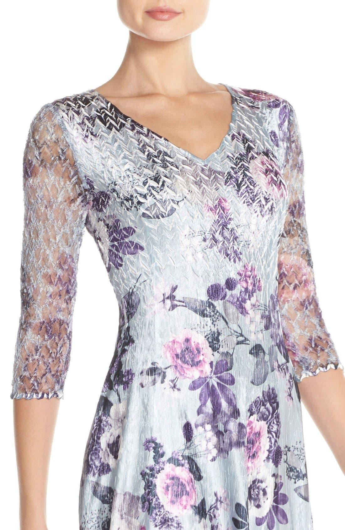 Alternate Image 4  - Komarov Mixed Media A-Line Dress