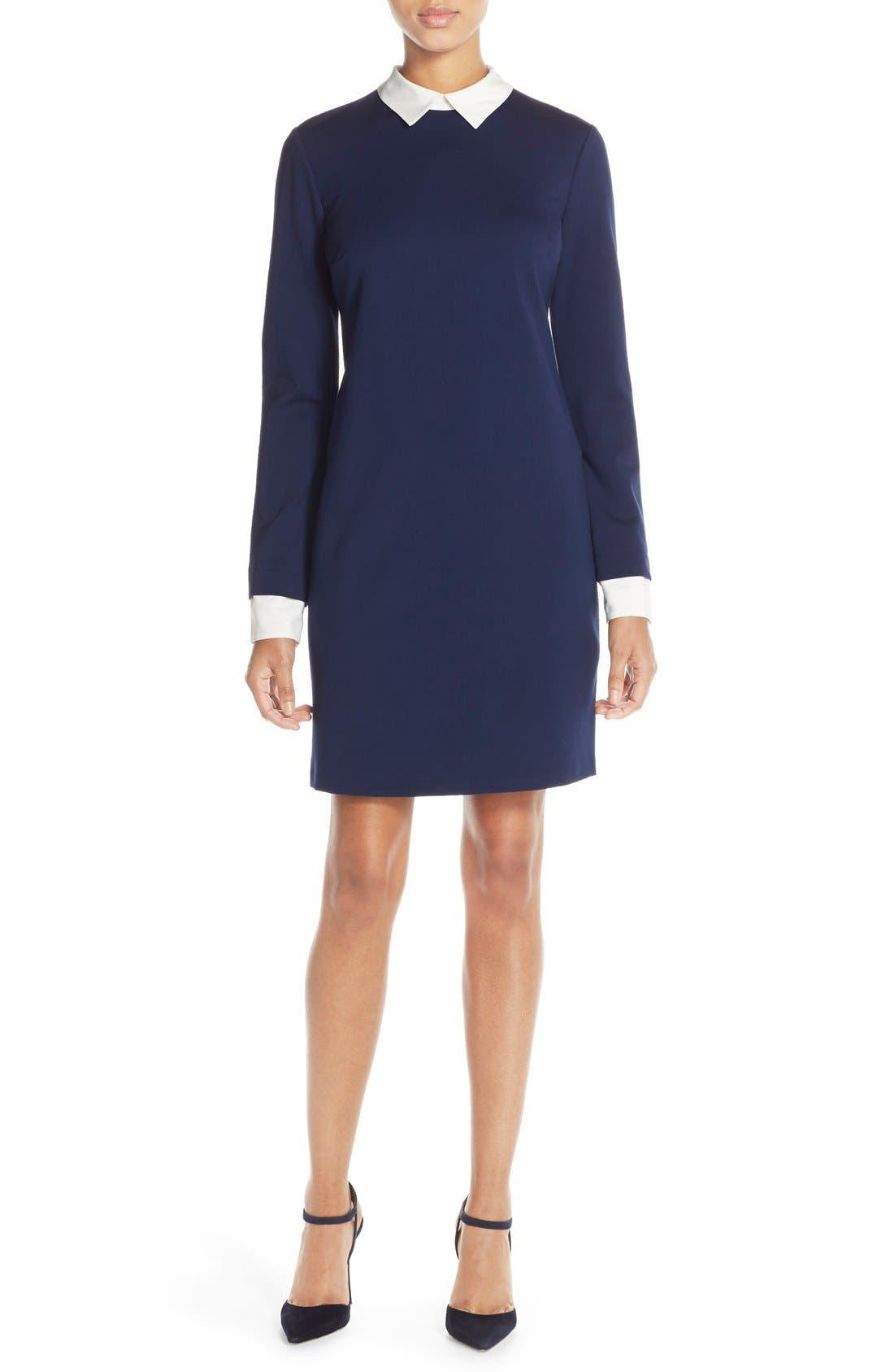 Alternate Image 1 Selected - CeCe by Cynthia Steffe Tech Ponte Shift Dress