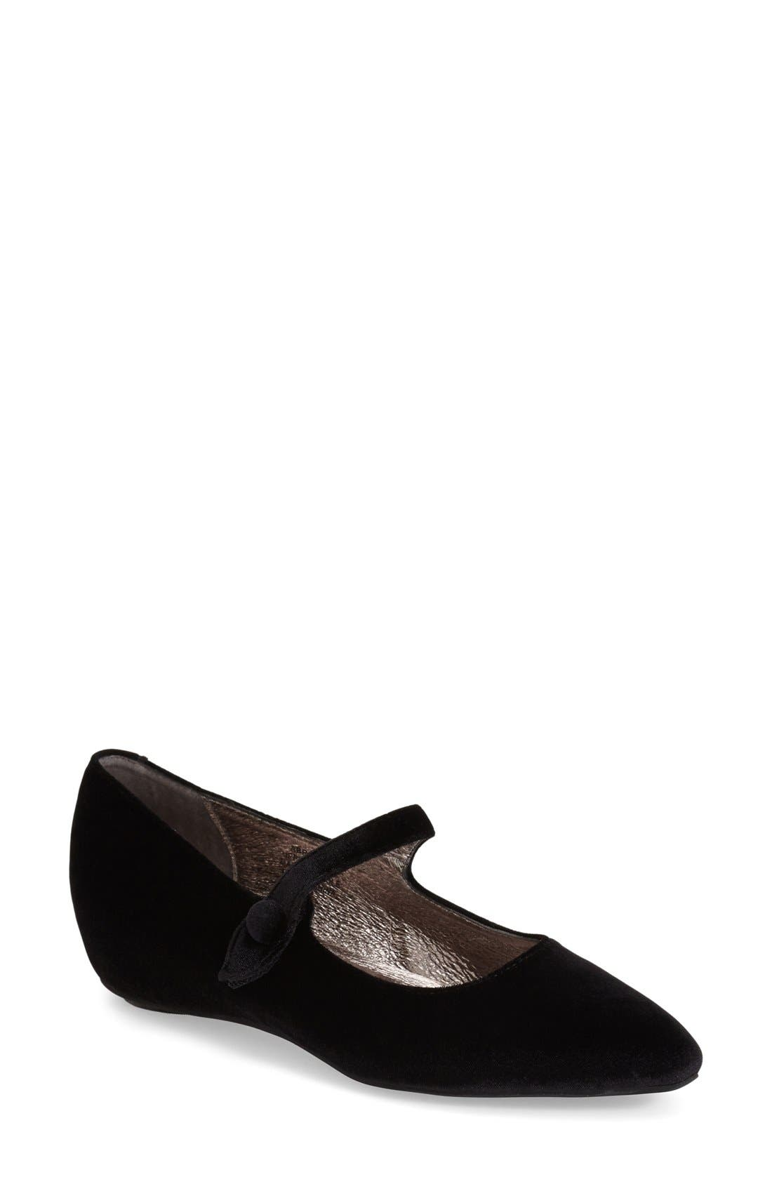 Alternate Image 1 Selected - Jeffrey Campbell 'Abrielle' Pointy Toe Mary Jane Flat (Women)