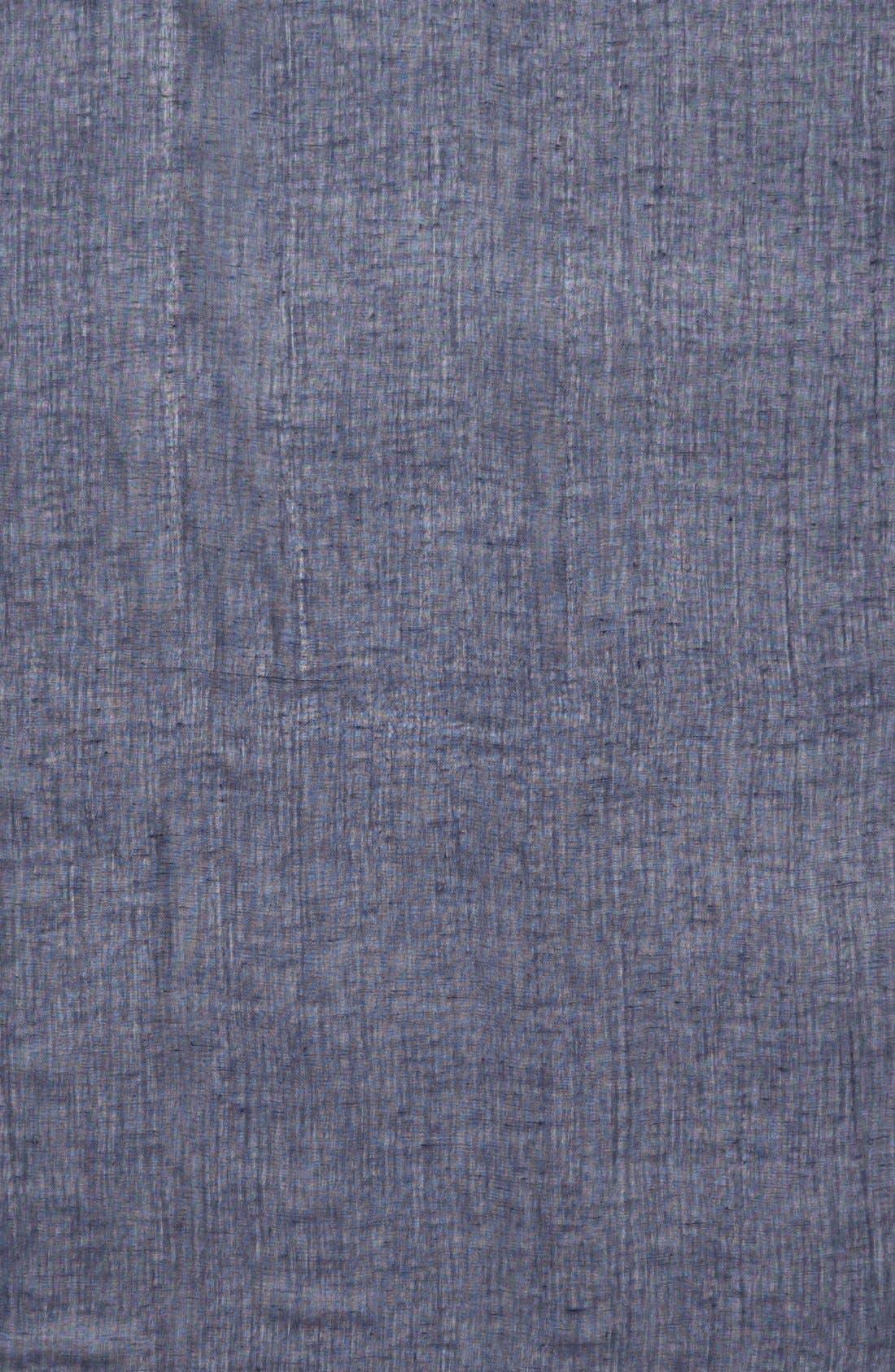 Alternate Image 3  - Caslon® Linen Blend Scarf
