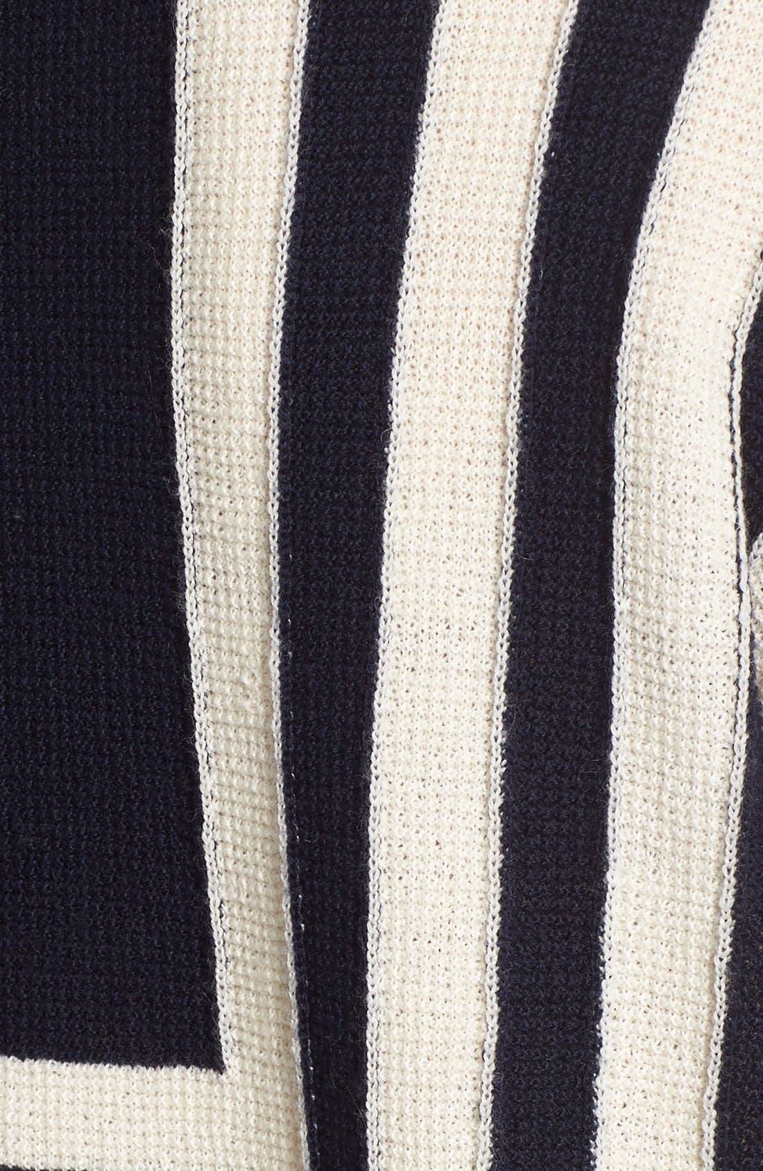 Alternate Image 5  - M.i.h. Jeans 'Bib Breton' Crewneck Sweater