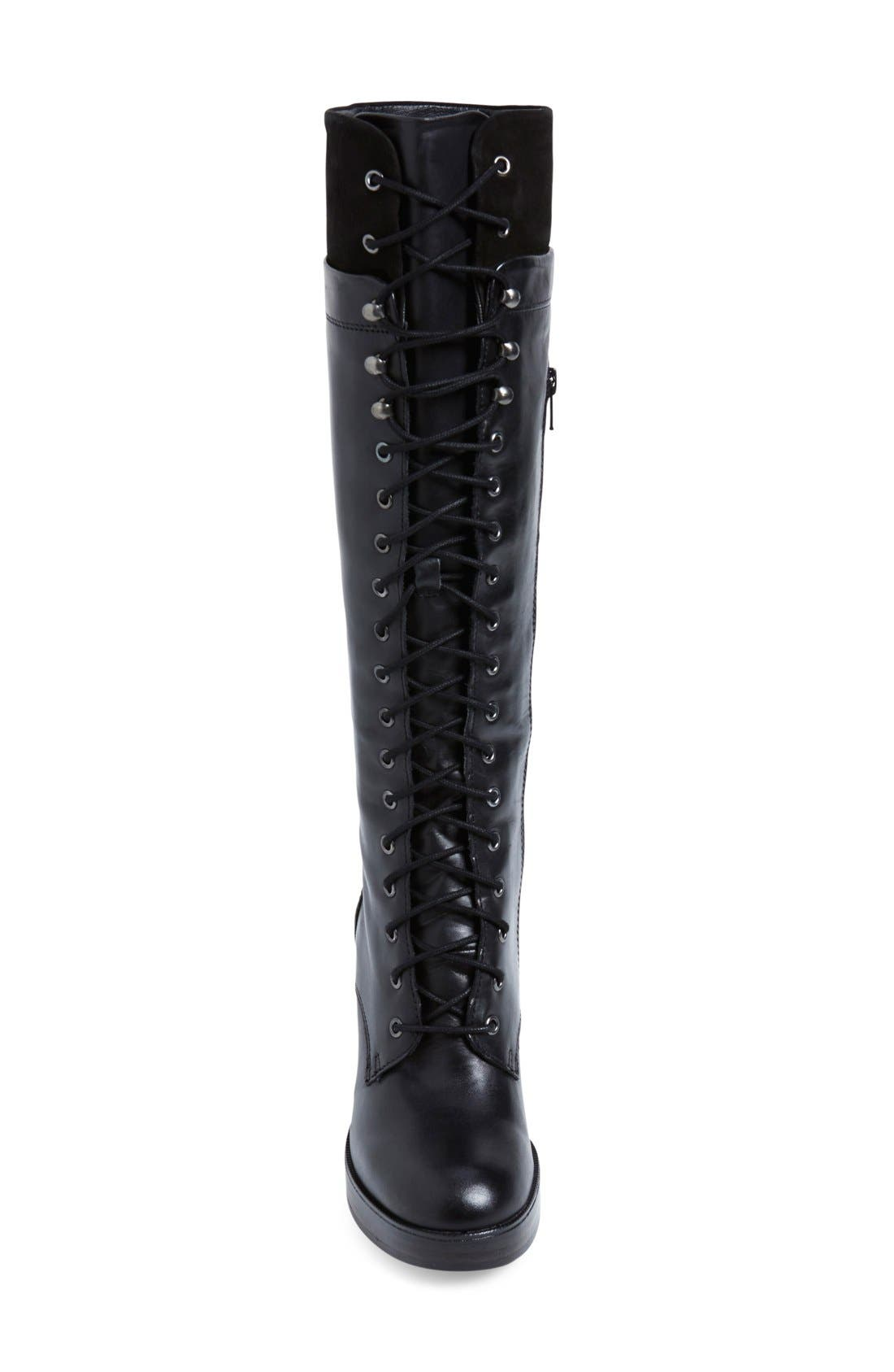 Alternate Image 3  - Steve Madden 'Nitefall' Tall Lace Up Boot (Women)