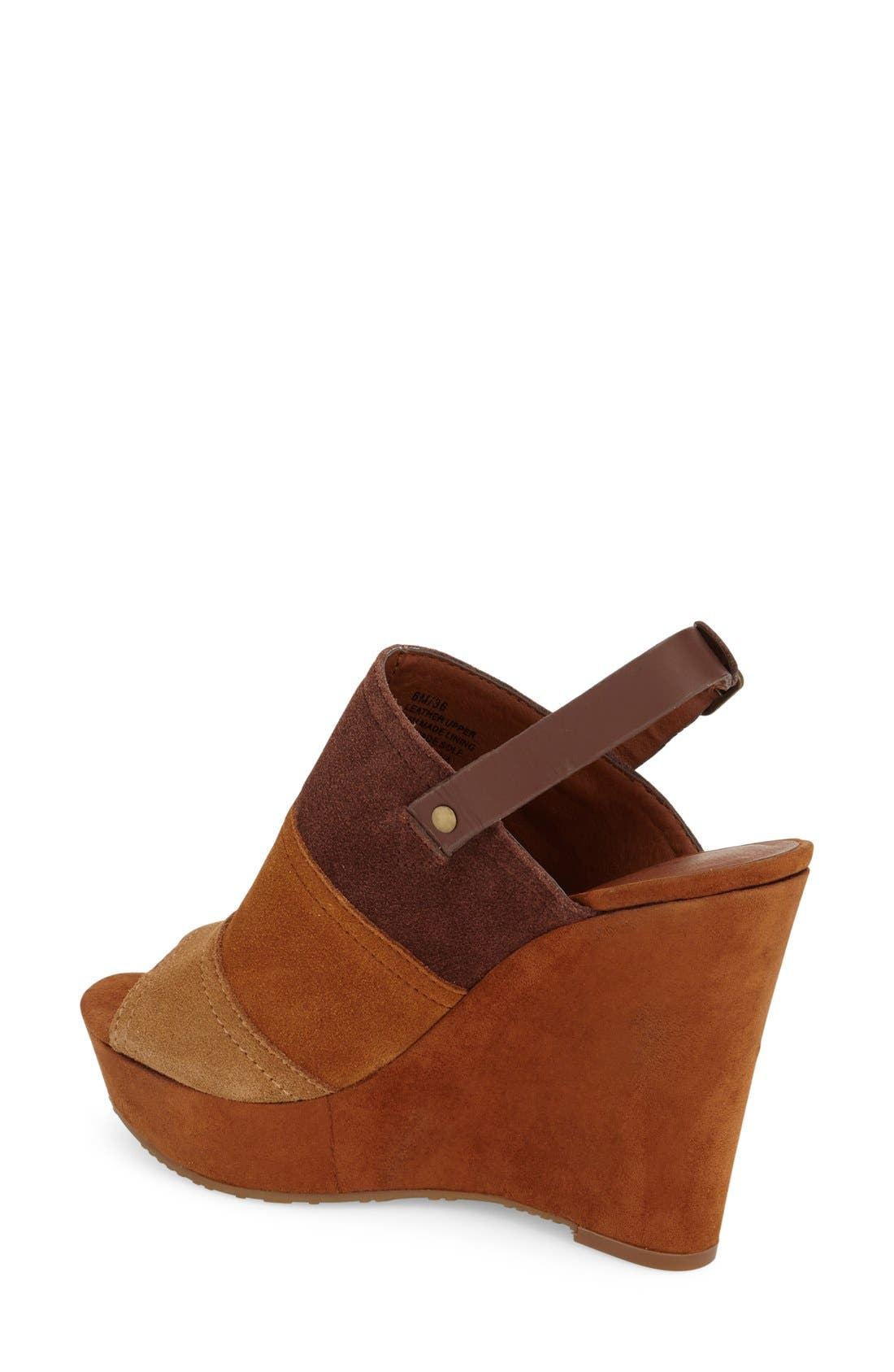 Alternate Image 2  - Lucky Brand 'Frescala' Wedge Sandal (Women)