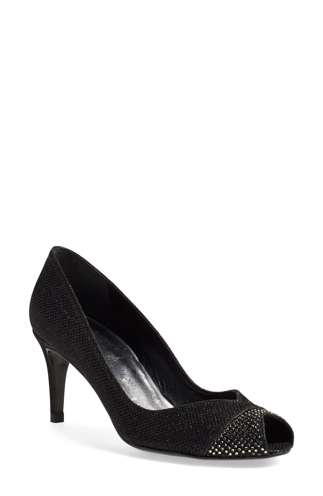 Stuart Weitzman 'Marvel' Peep Toe Pump (Women)