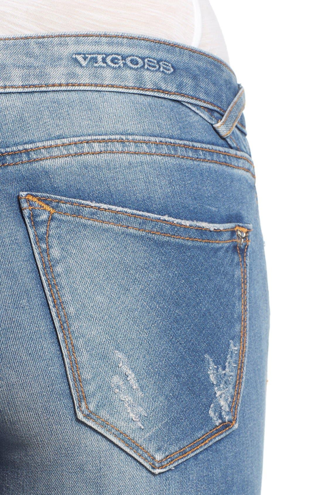 Alternate Image 4  - Vigoss 'Tompson' Easy Skinny Jeans