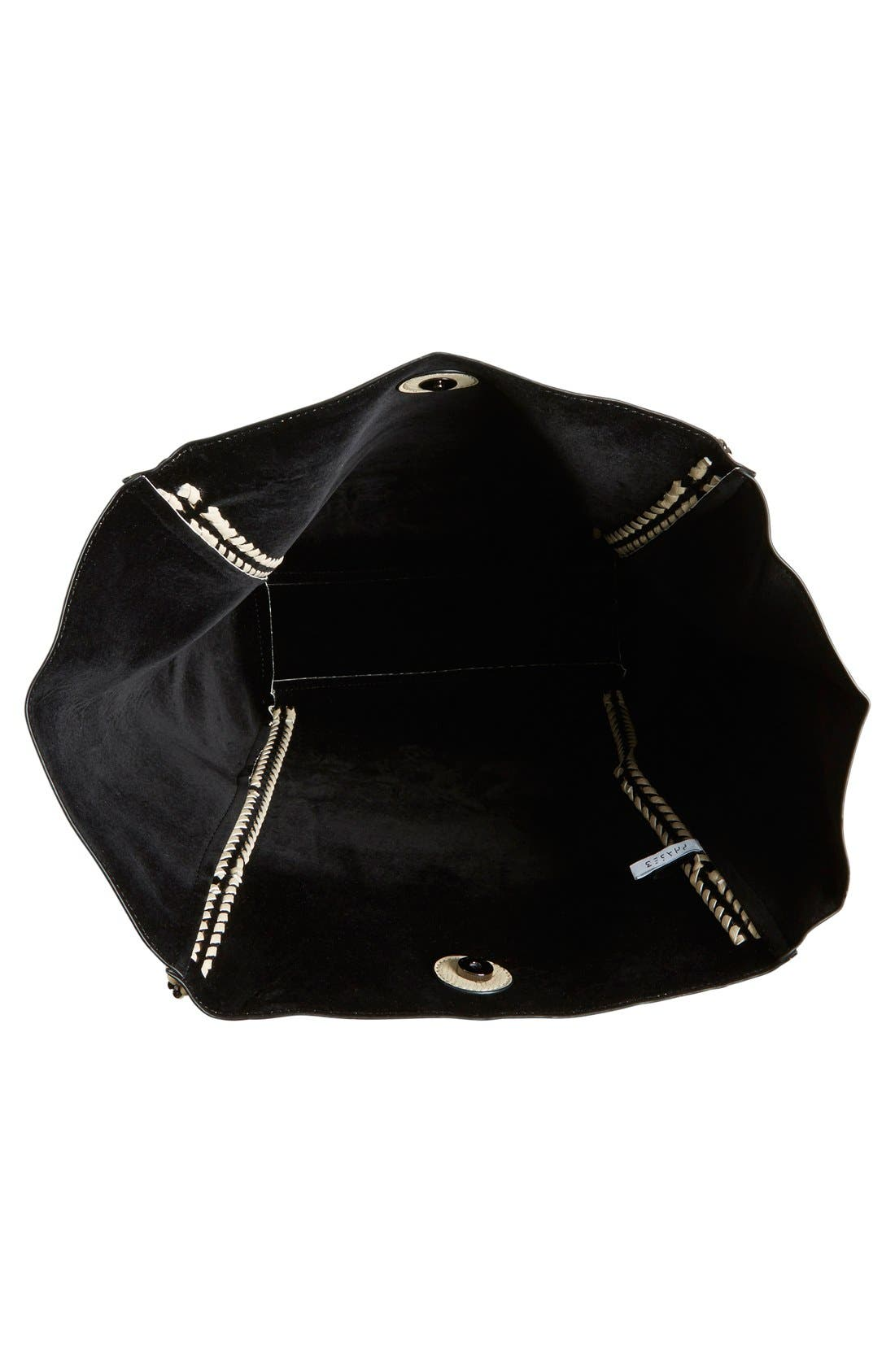 Alternate Image 4  - Phase 3 Chain Faux Leather Tote
