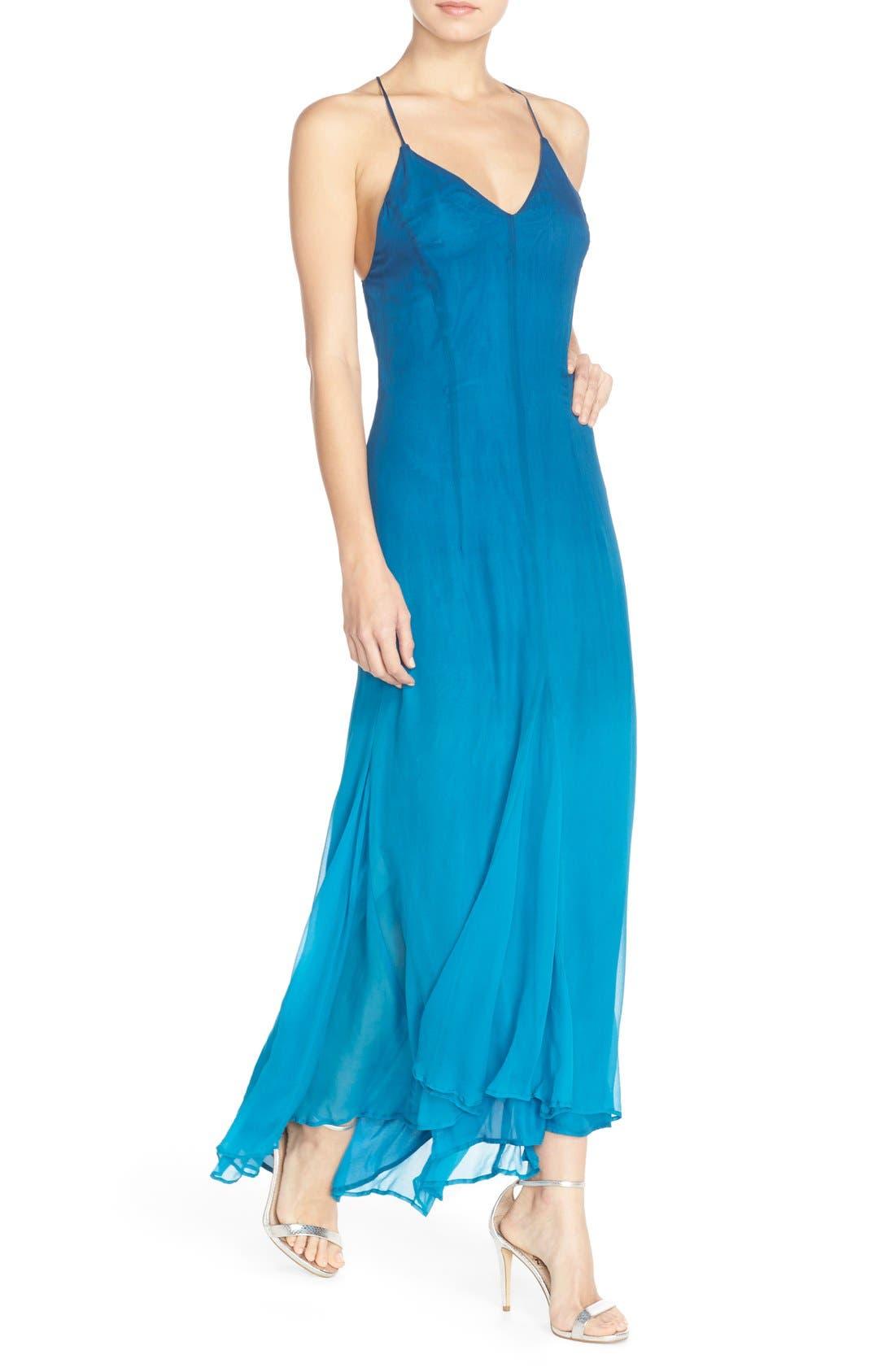 Alternate Image 4  - Charlie Jade Ombré Maxi Dress with High/Low Hem