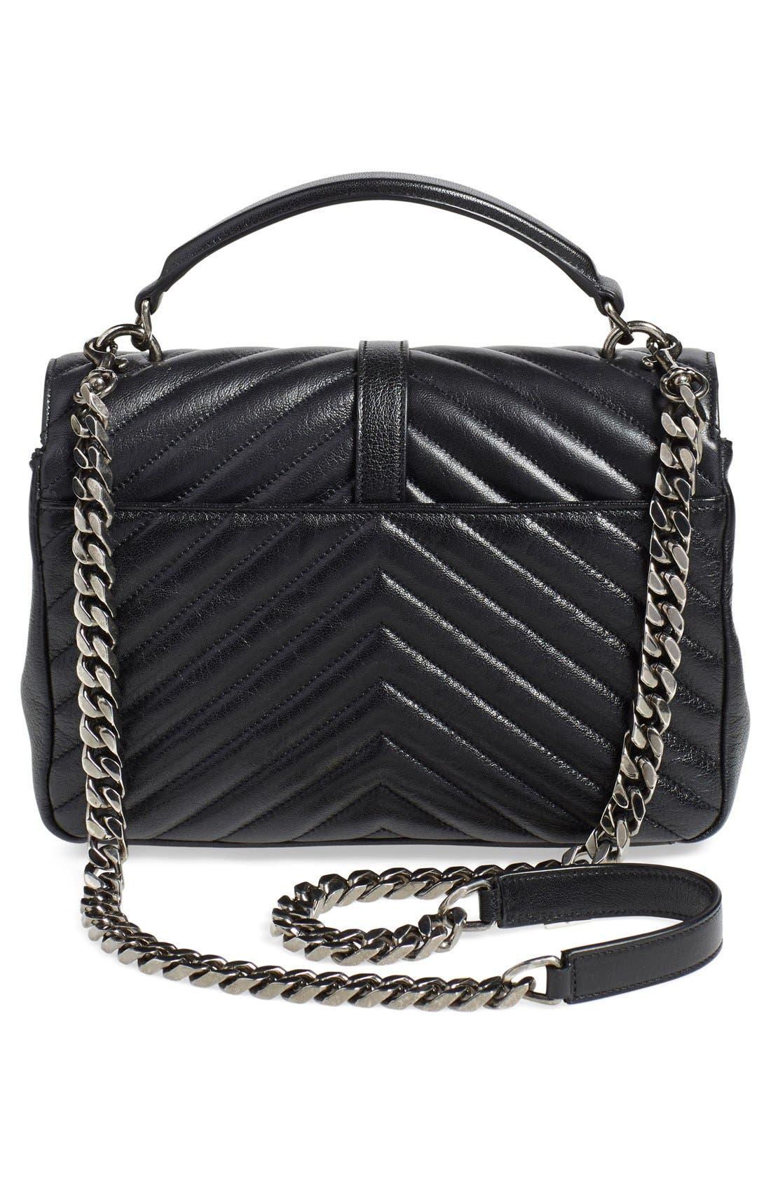 Alternate Image 3  - Saint Laurent 'Medium Monogram' Quilted Leather Shoulder Bag