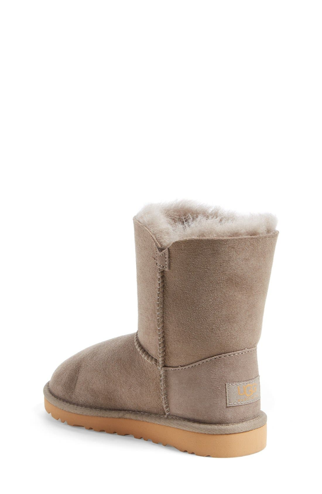 Alternate Image 2  - UGG® 'Bailey Button' Boot (Walker, Toddler, Little Kid & Big Kid)