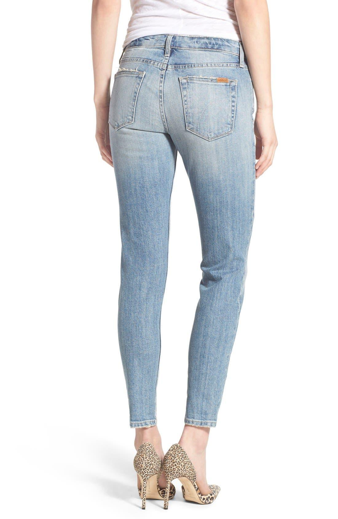 Alternate Image 2  - Joe's 'Collector's - Billie' Ankle Slim Boyfriend Jeans (Rina)