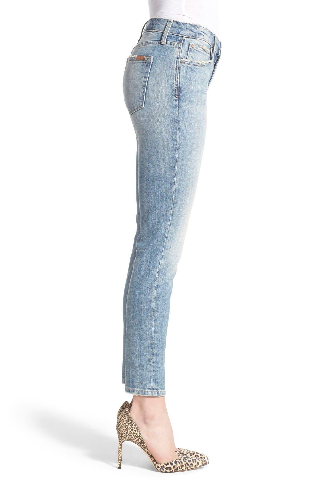 Alternate Image 3  - Joe's 'Collector's - Billie' Ankle Slim Boyfriend Jeans (Rina)