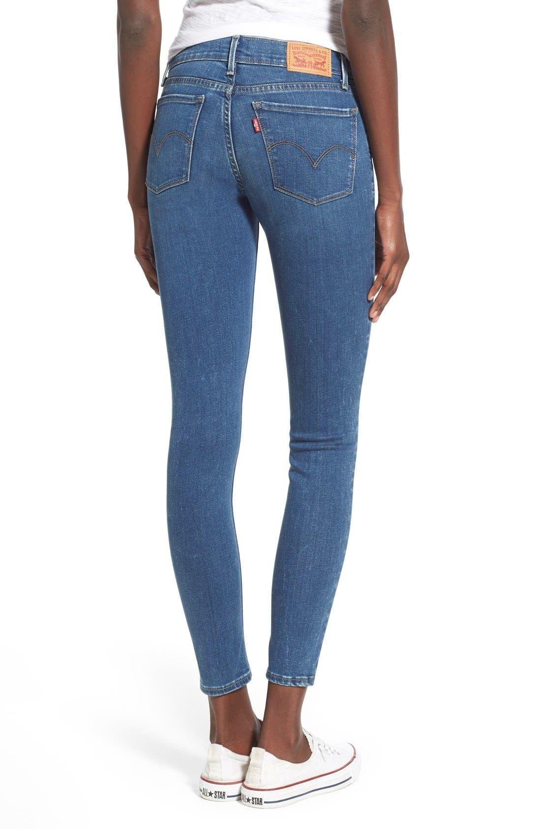 Alternate Image 2  - Levi's® '710' Super Skinny Jeans (Pacific Drive)