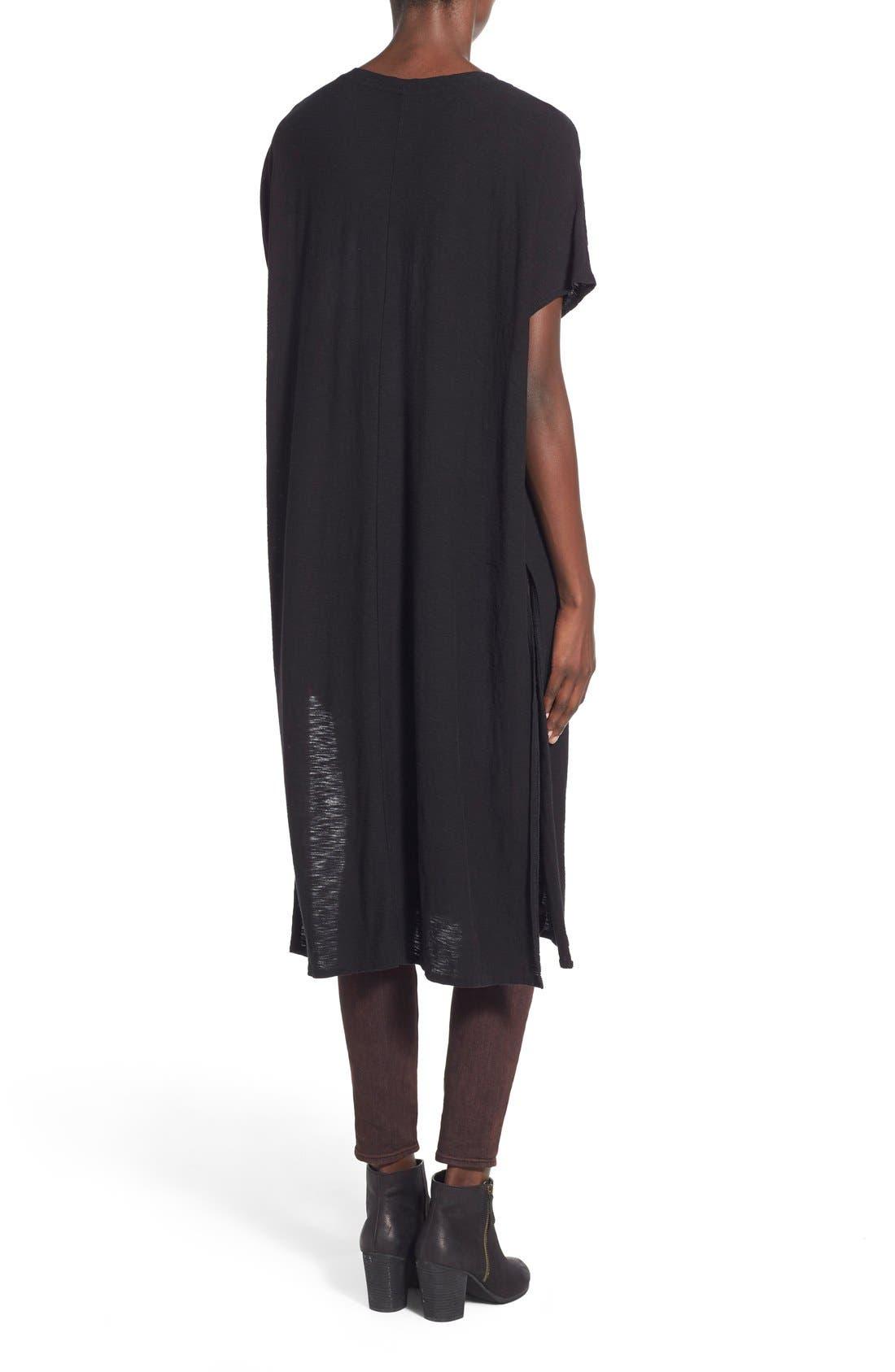 Alternate Image 2  - Michelle by Comune 'Hayward' V-Neck T-Shirt Dress
