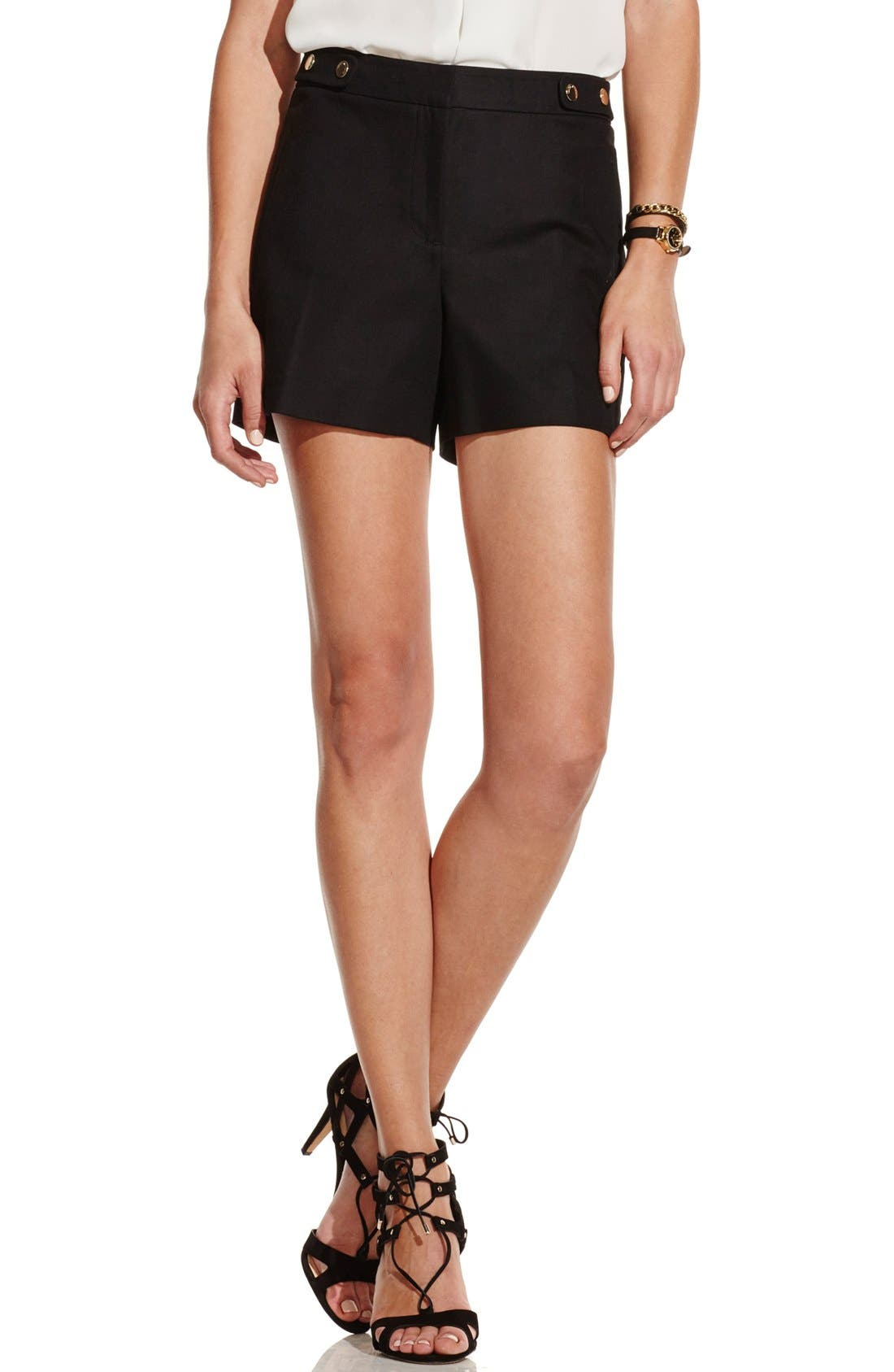 Alternate Image 1 Selected - Vince Camuto Stretch Cotton Shorts