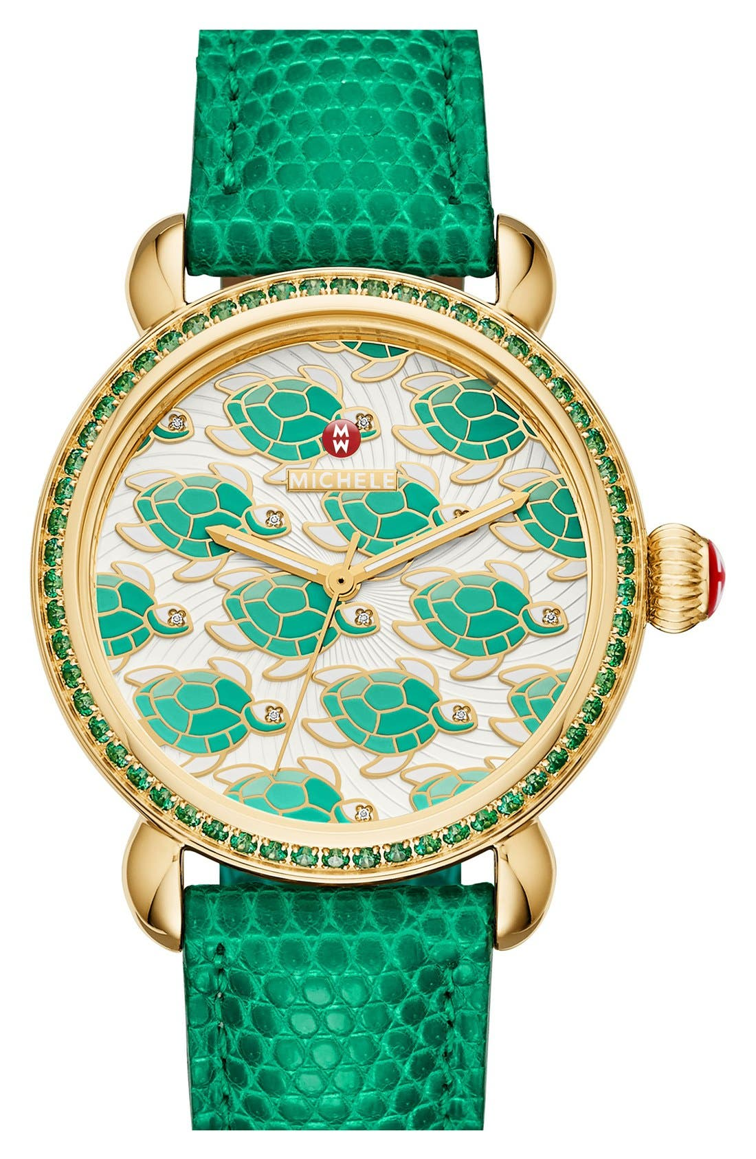 Alternate Image 4  - MICHELE 'Exotic Creatures' Bracelet Watch Case, 36mm