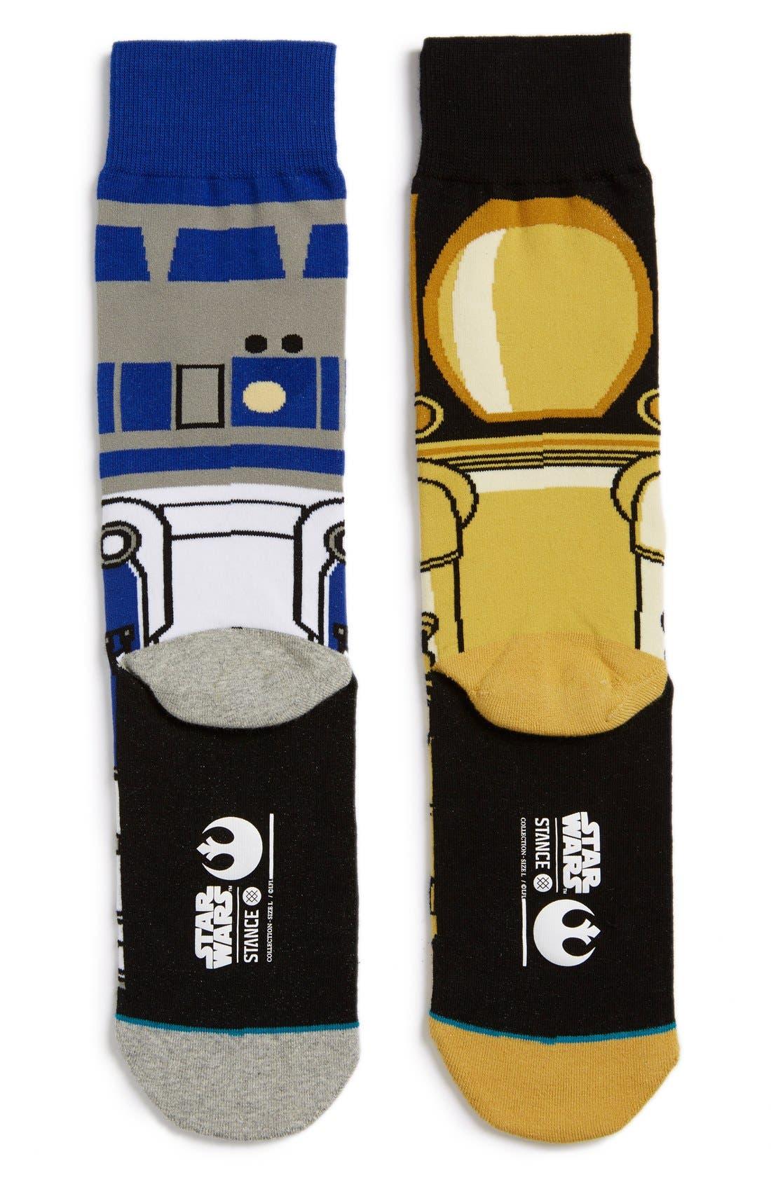 Alternate Image 2  - Stance 'Star Wars™ - Droid' Socks