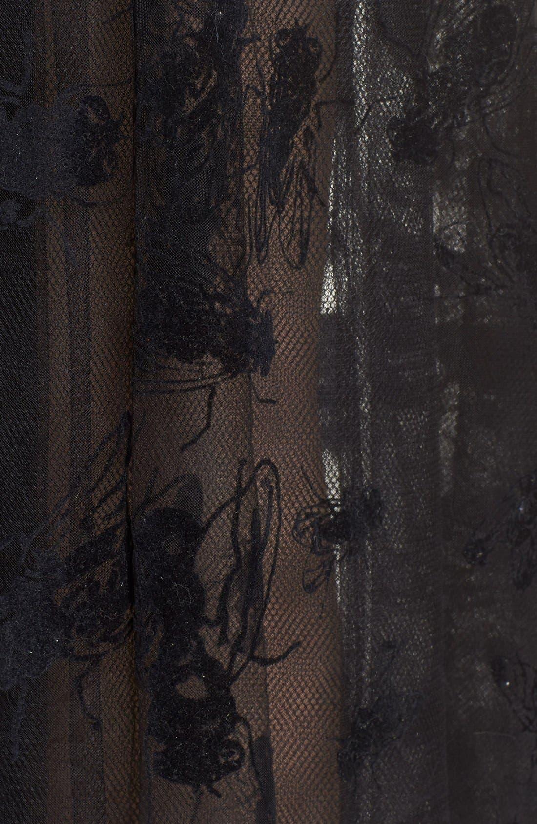 Alternate Image 3  - Ashley Williams 'Flock Fly' Sheer Tulle Skirt
