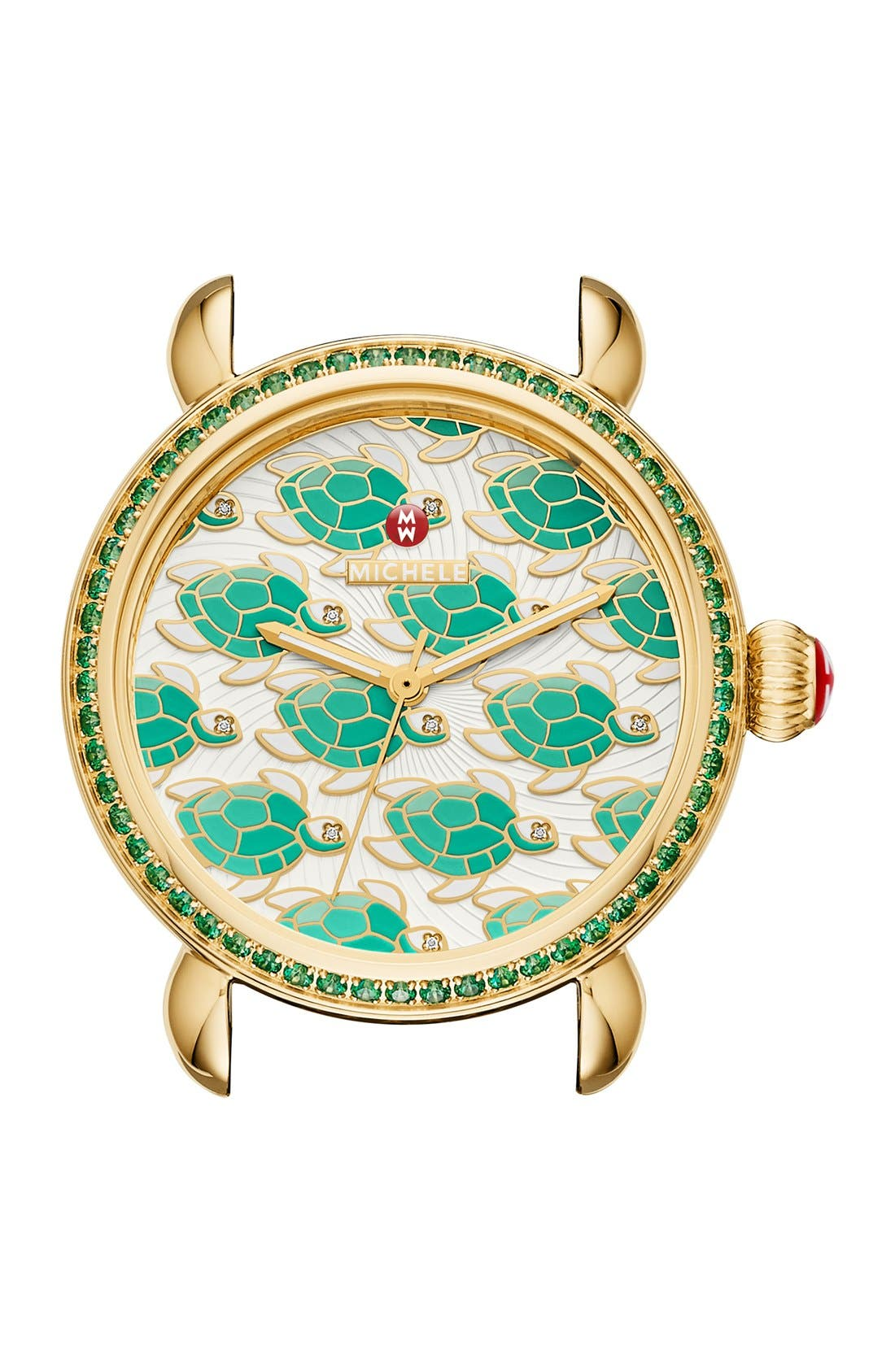 Alternate Image 1 Selected - MICHELE 'Exotic Creatures' Bracelet Watch Case, 36mm