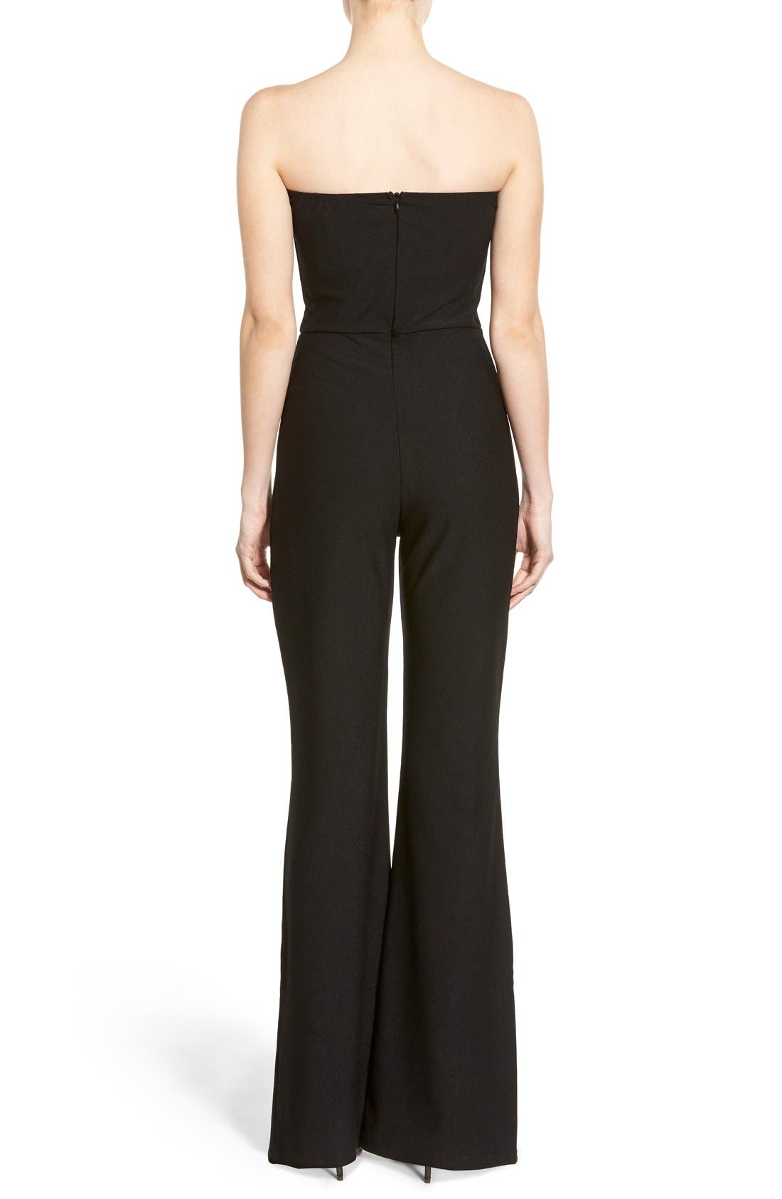 Alternate Image 2  - Missguided Sweetheart Plunge Jumpsuit