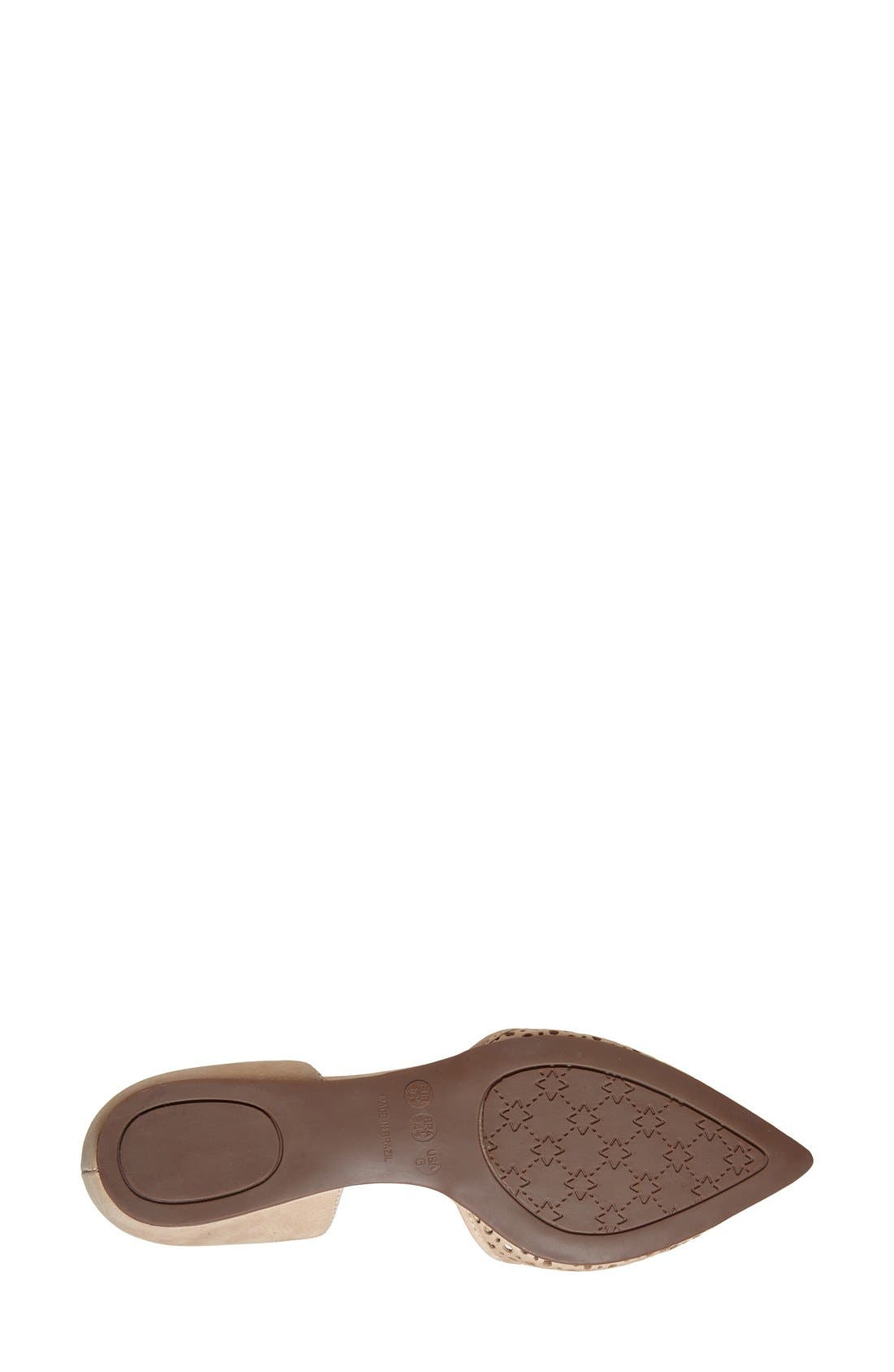 Alternate Image 4  - French Sole 'Quotient' d'Orsay Flat (Women)