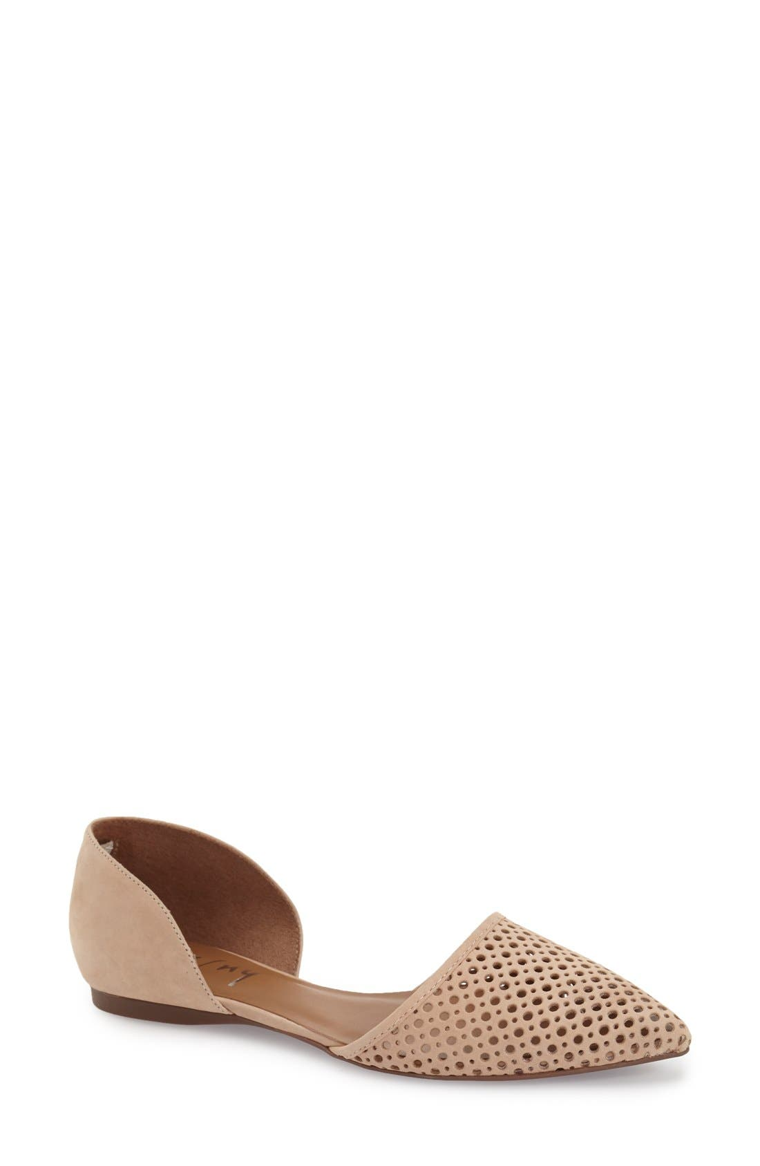 Alternate Image 1 Selected - French Sole 'Quotient' d'Orsay Flat (Women)