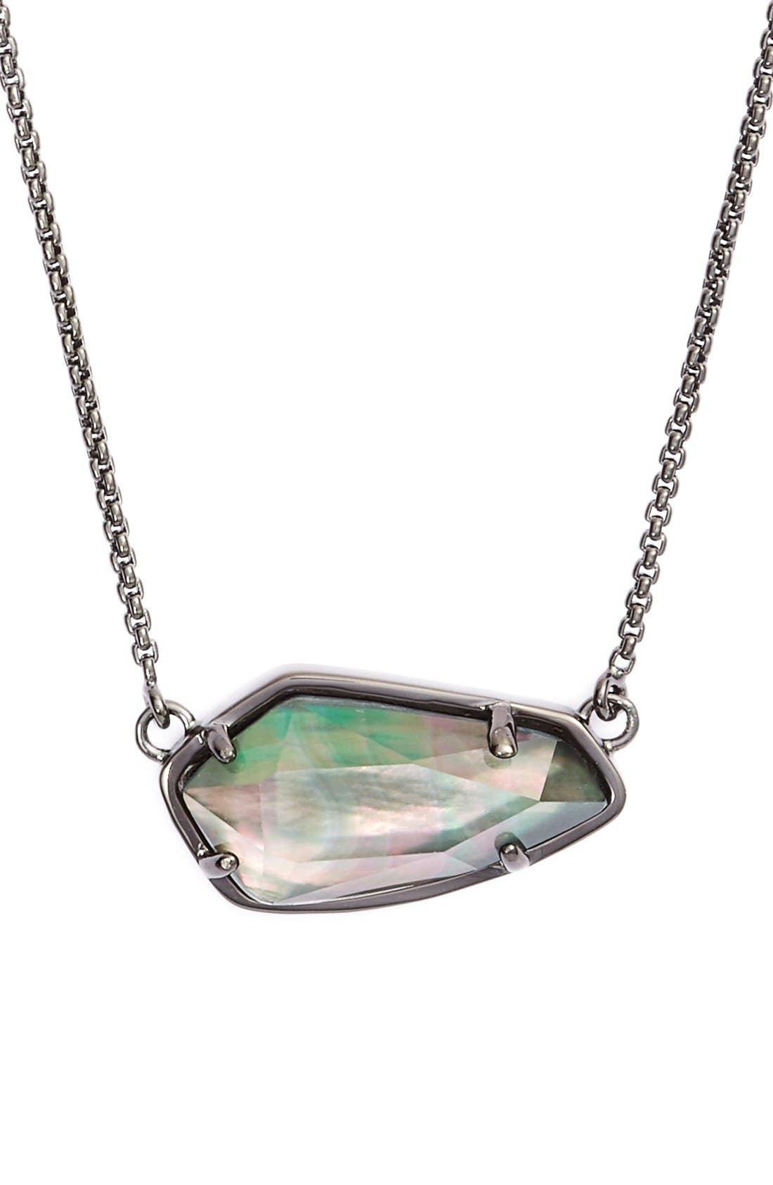 Alternate Image 1 Selected - Kendra Scott 'Cami' Pendant Necklace