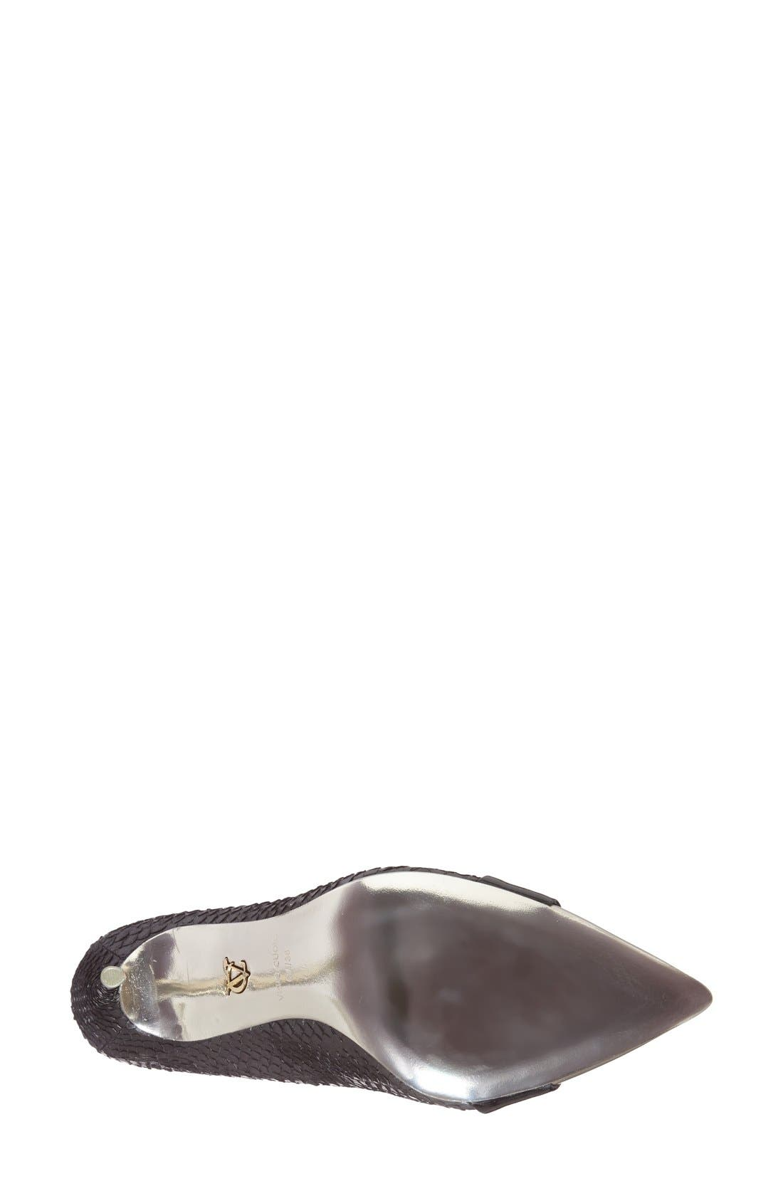 Alternate Image 4  - VC Signature 'Ville' Pointy Toe Pump (Women)