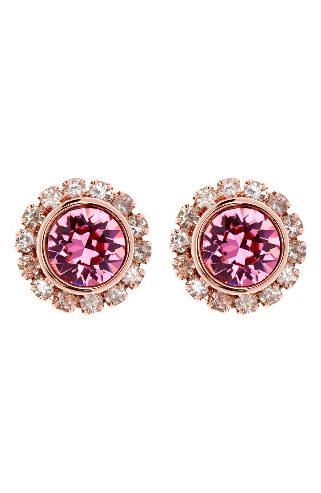 Main Image - Ted Baker London 'Crystal Daisy' Stud Earrings